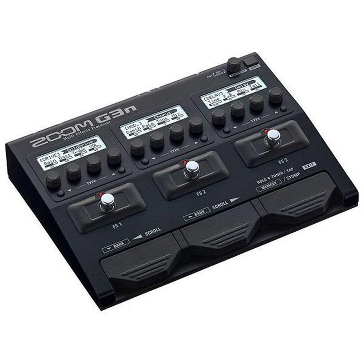 ZOOM G3n - pedaliera multieffetto. amp-simulator