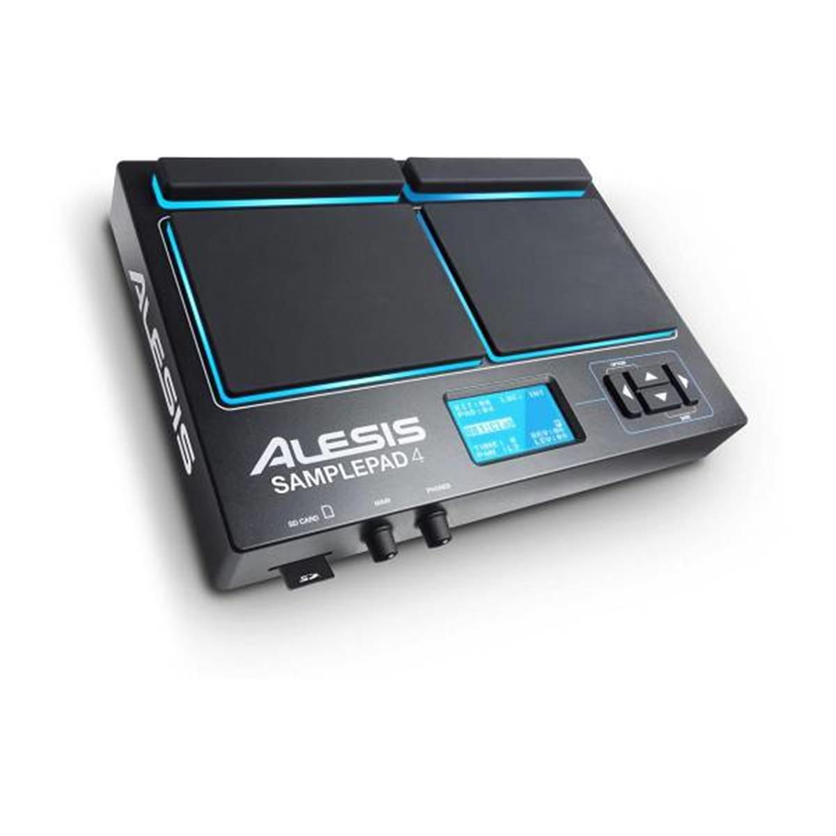 ALESIS SAMPLEPAD 4: PERCUSSIONE ELETTRONICA E SAMPLE PLAYER A 4 PAD