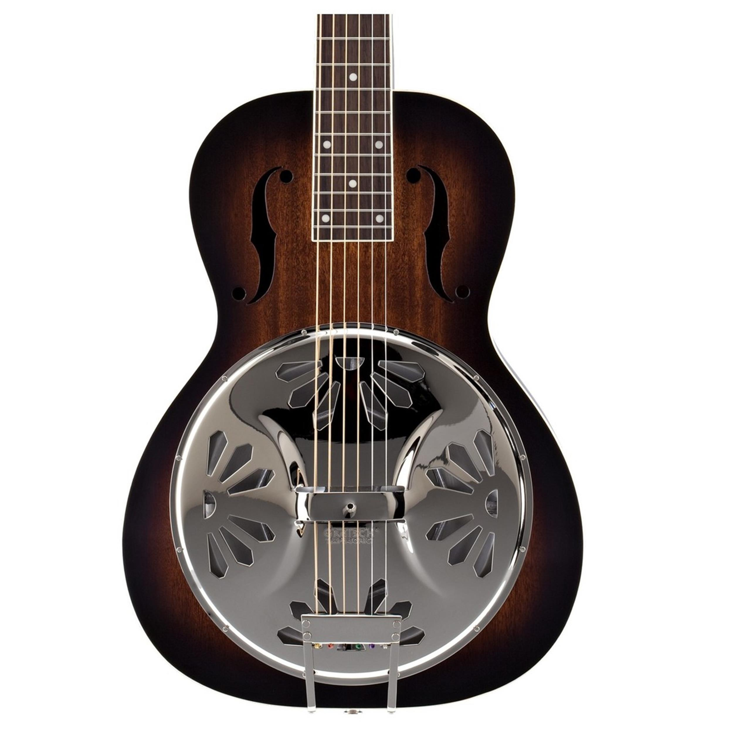 GRETSCH G9230 BOBTAIL DELUXE RESONATOR SQUARE NECK SNB MH - 2716020503