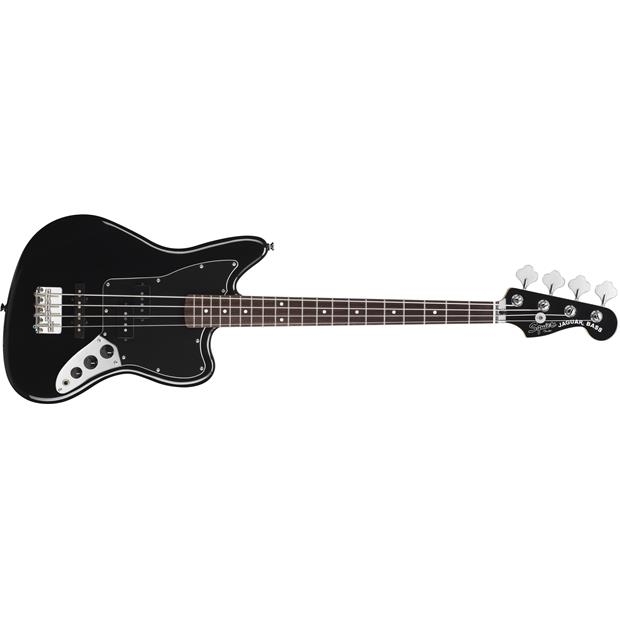 SQUIER VINTAGE MODIFIED JAGUAR BASS BLACK SPECIAL SS Short Scale - 0378800506