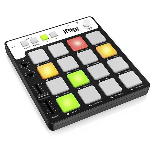 IK-MULTIMEDIA-iRIG-PADS-CONTROLLER-MIDI-USB-per-sistemi-iOS-PC-e-MAC-sku-17811