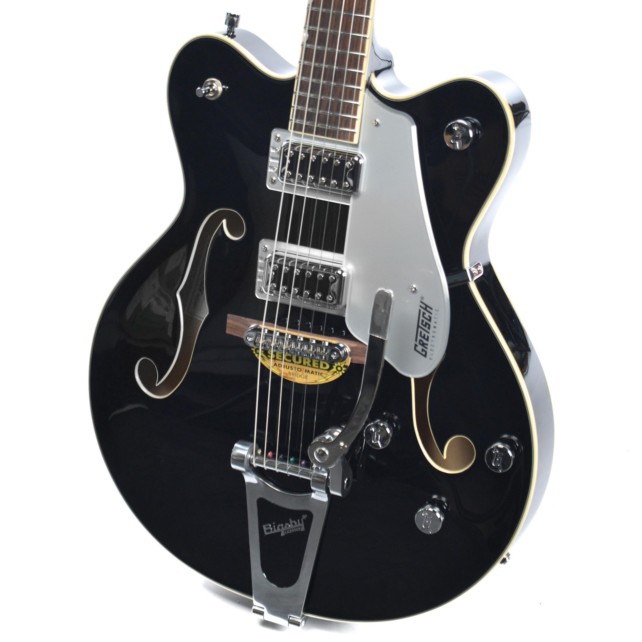 GRETSCH G5422T BLACK Electromatic Hollow Body Double-Cut with Bigsby