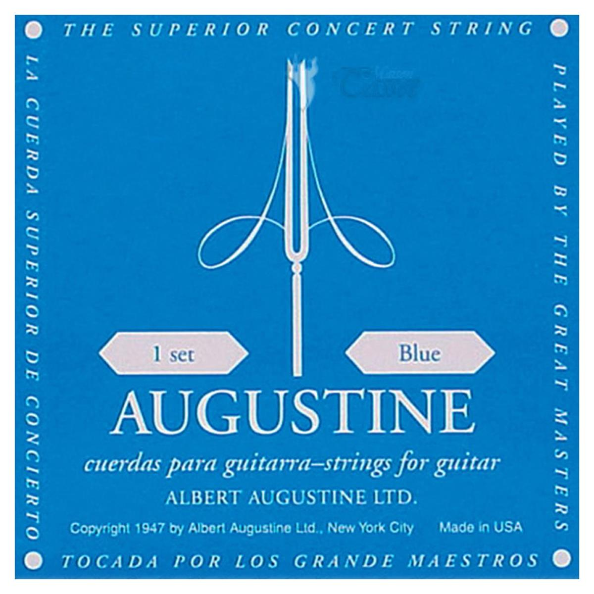 AUGUSTINE SET CORDE CHITARRA CLASSICA BLUE LABEL