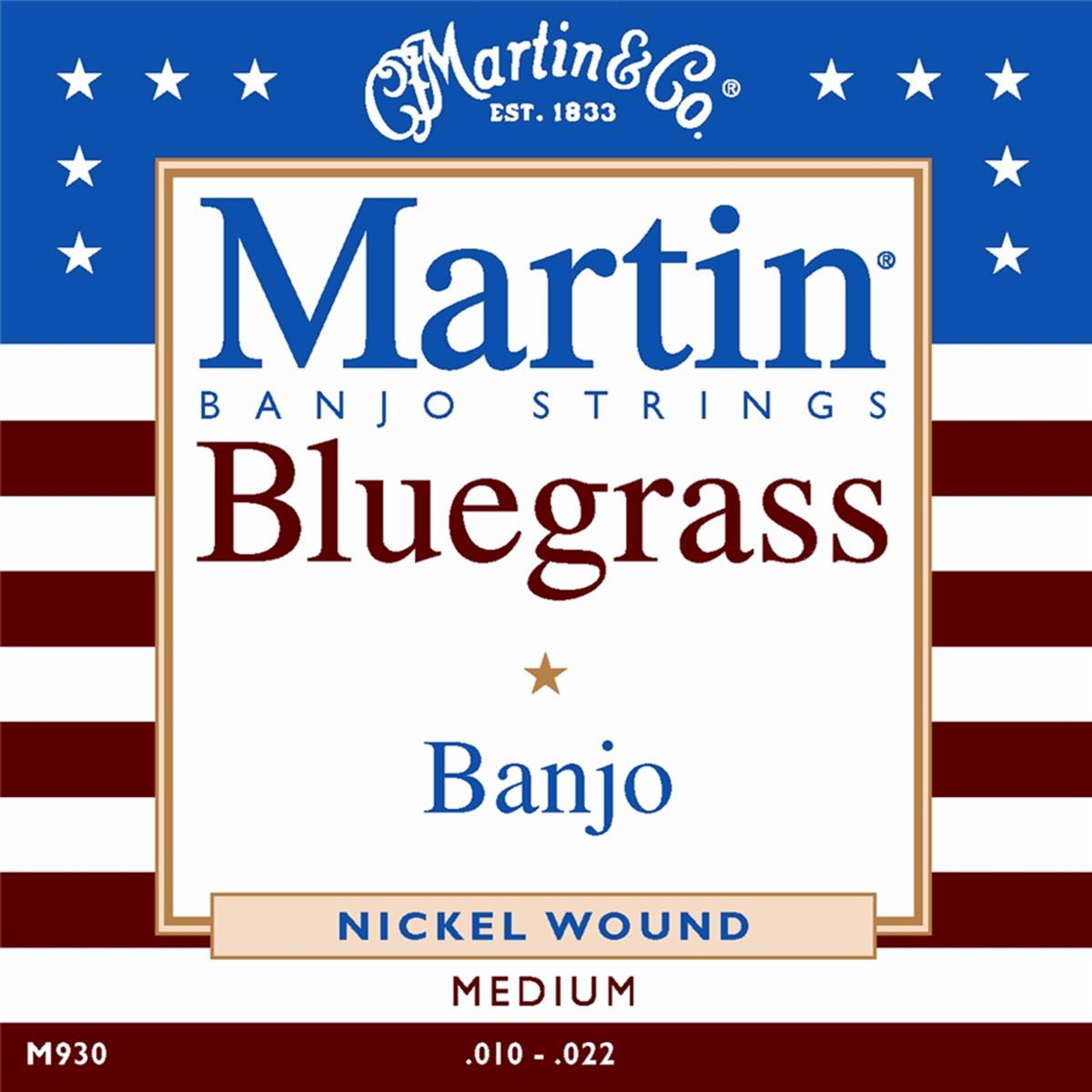 MARTIN & CO. M930 BLUEGRASS BANJO 10-22 MUTA