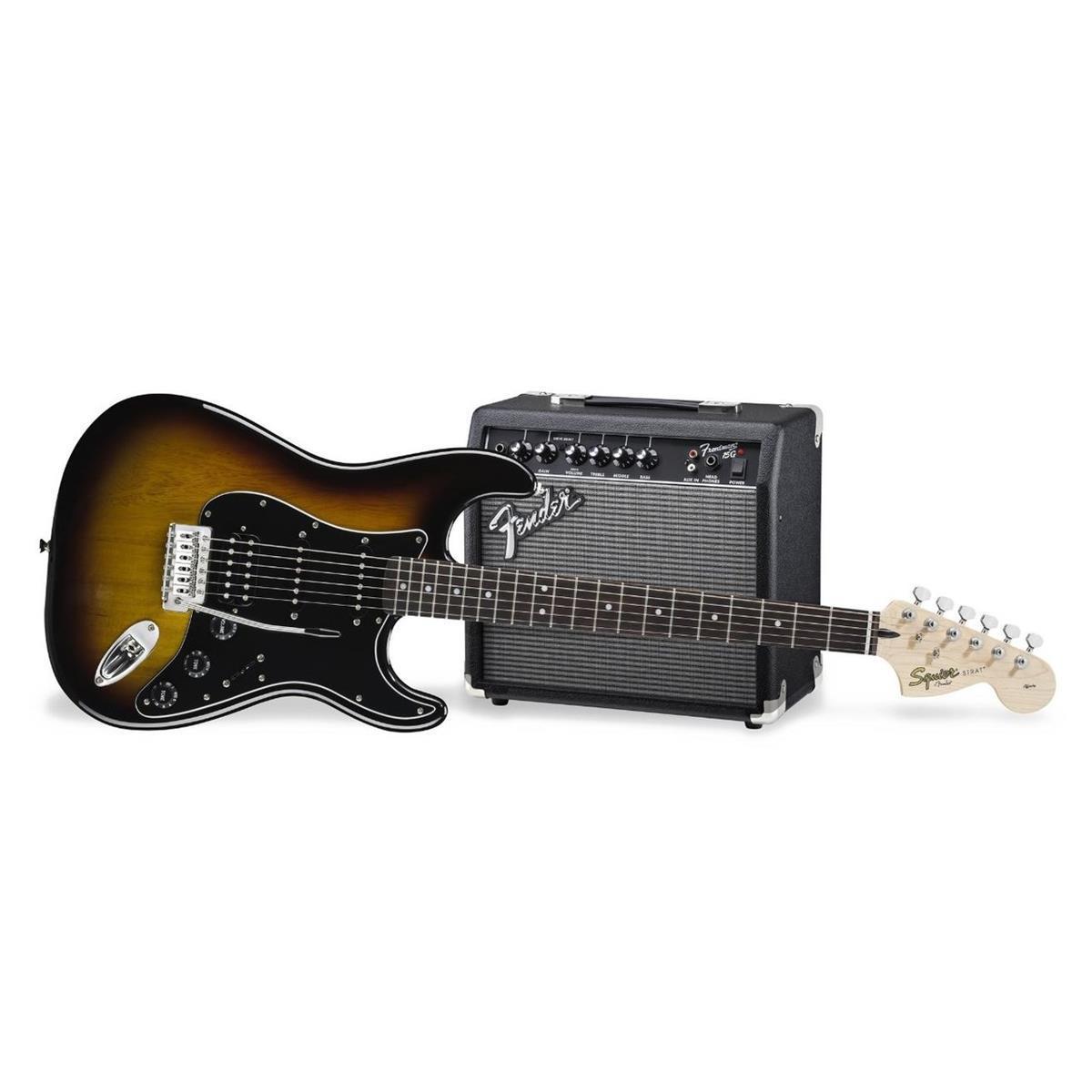 SQUIER AFFINITY PACK KIT SET Stratocaster HSS 15G BSB No-Bag - 0301814632