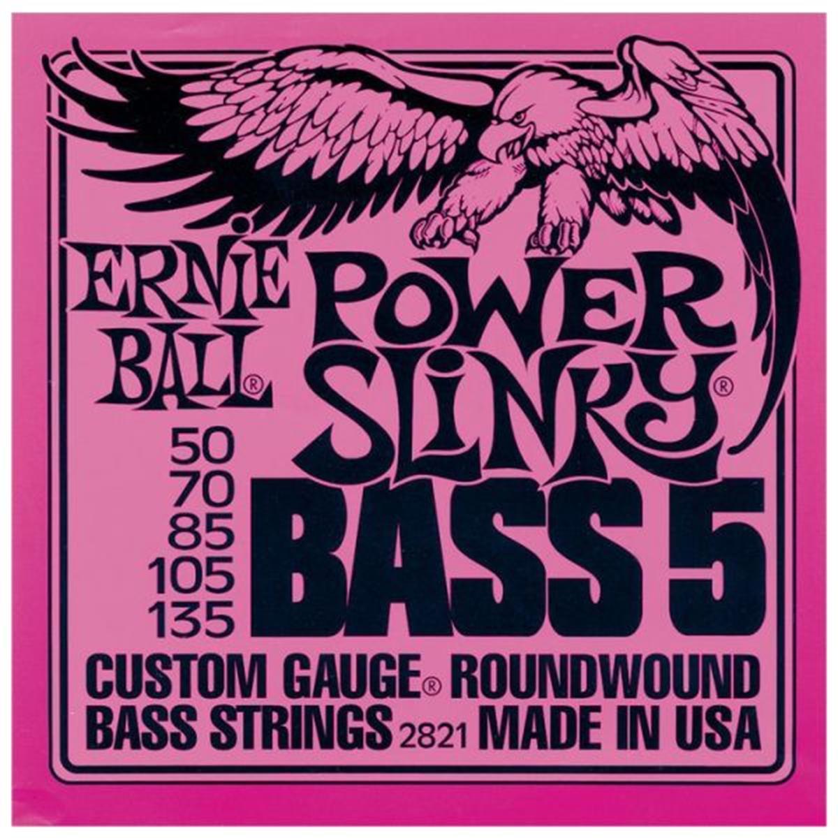 ERNIE BALL 2821 POWER SLINKY 5 50-135