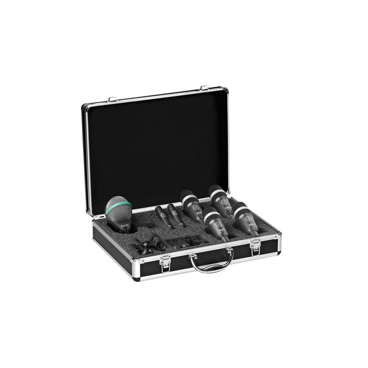 AKG DRUM SET CONCERT KIT 7 MIC
