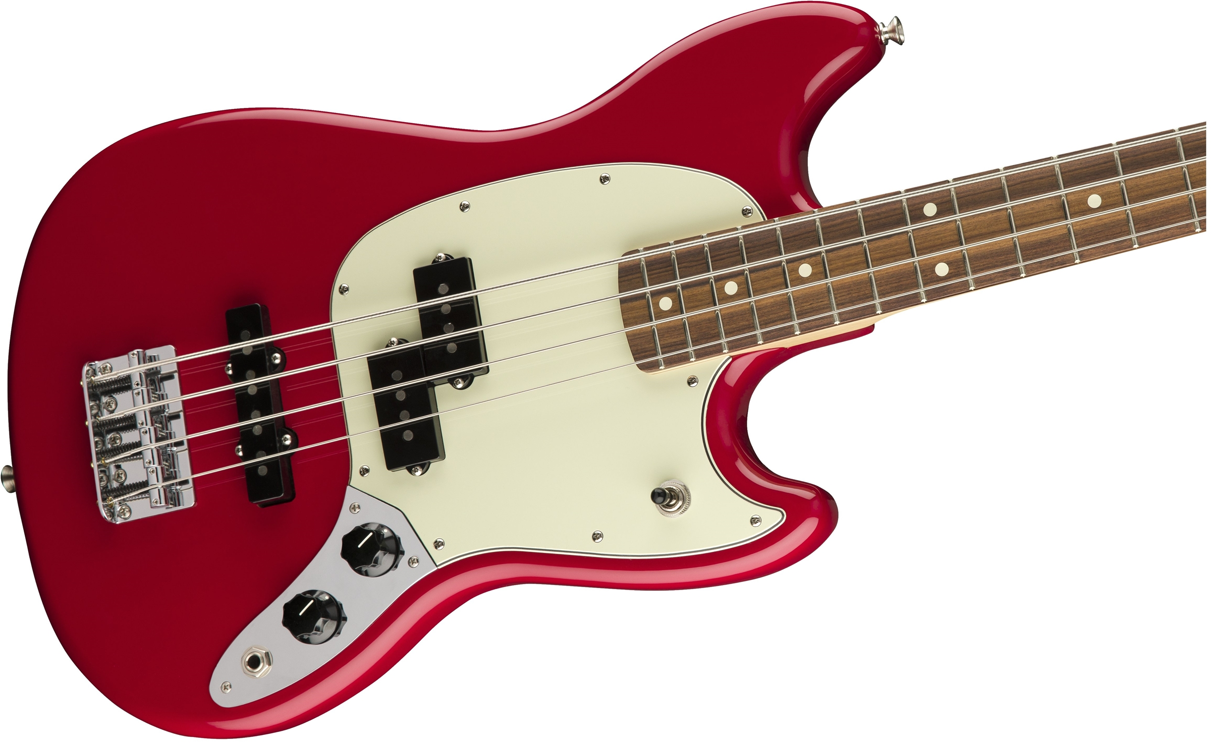 FENDER Mustang Bass PJ PF Torino Red SHORT SCALE 0144053558