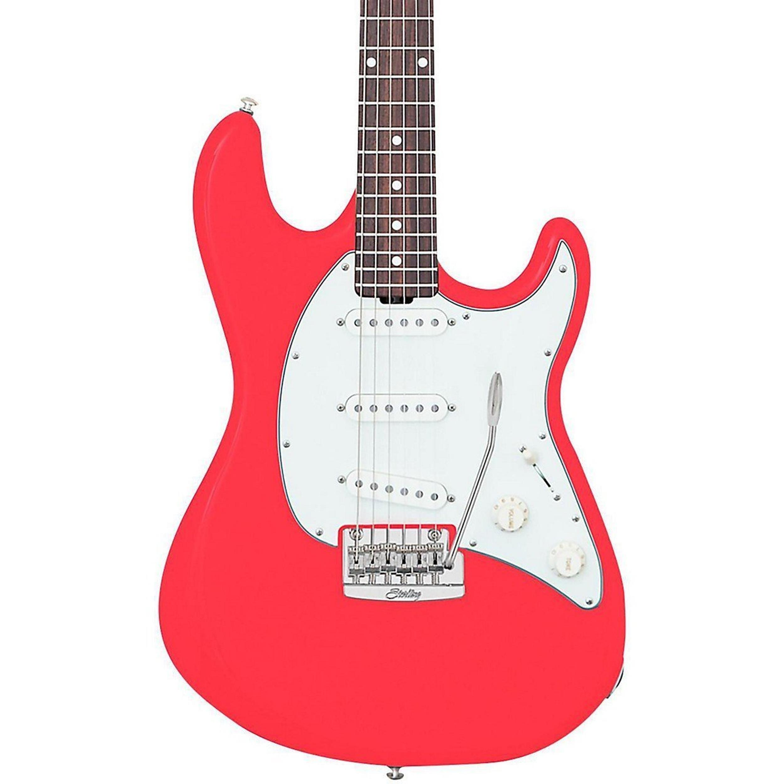 STERLING BY MUSICMAN CUTLASS CT50 FIESTA RED