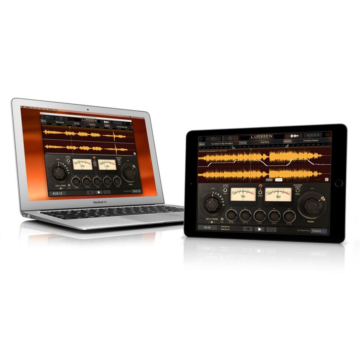IK Multimedia Lurssen Mastering Console -app per iPhone/iPad e Mac/PC