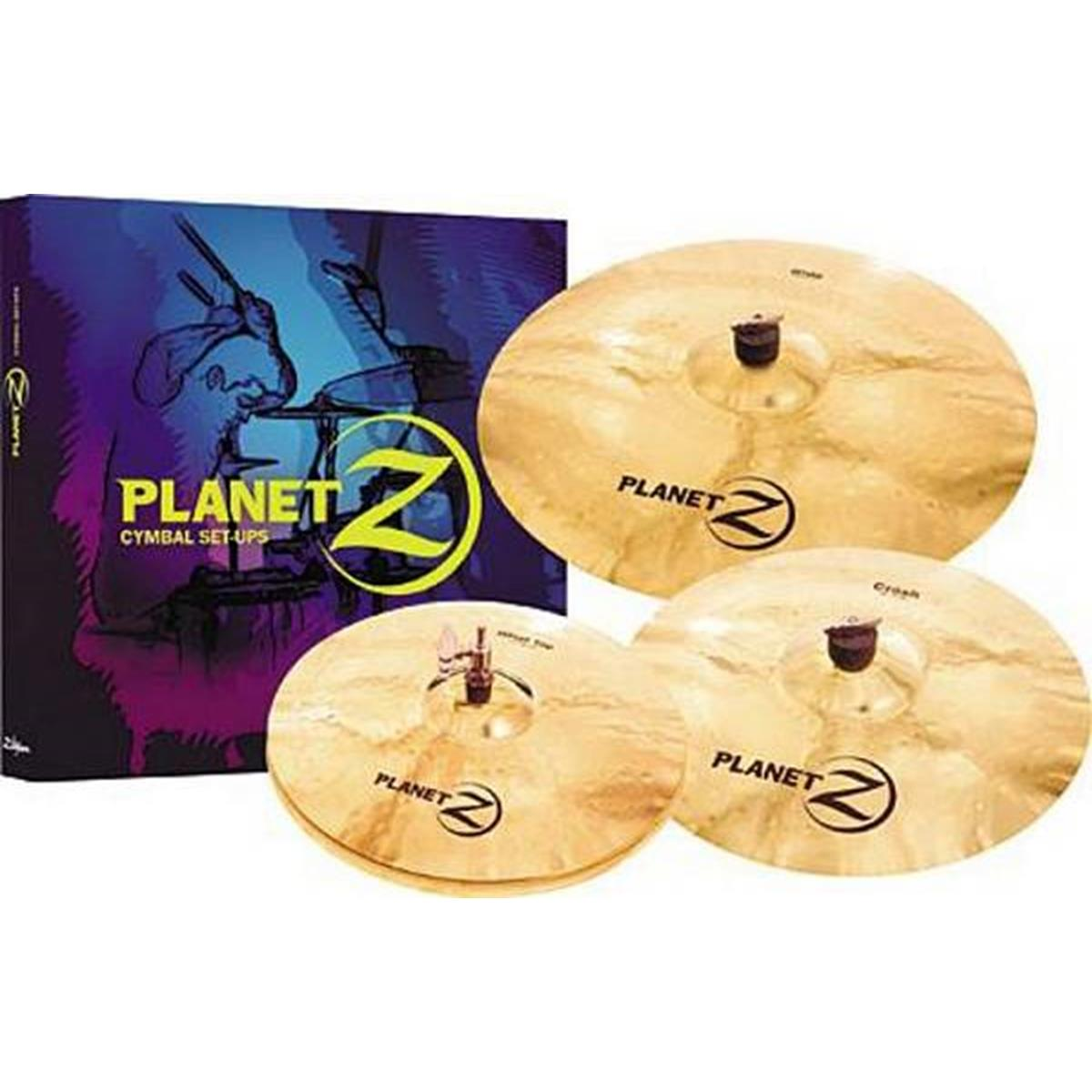 ZILDJIAN SET PIATTI PLANET Z SET 4