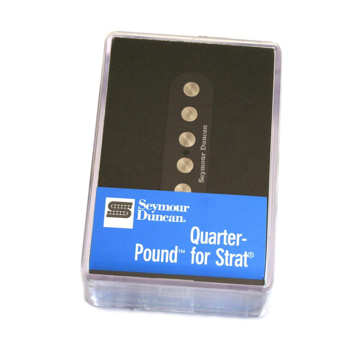 SEYMOUR-DUNCAN SSL-4 QUARTER POUND for Strat BLACK - 2717028 11202-03