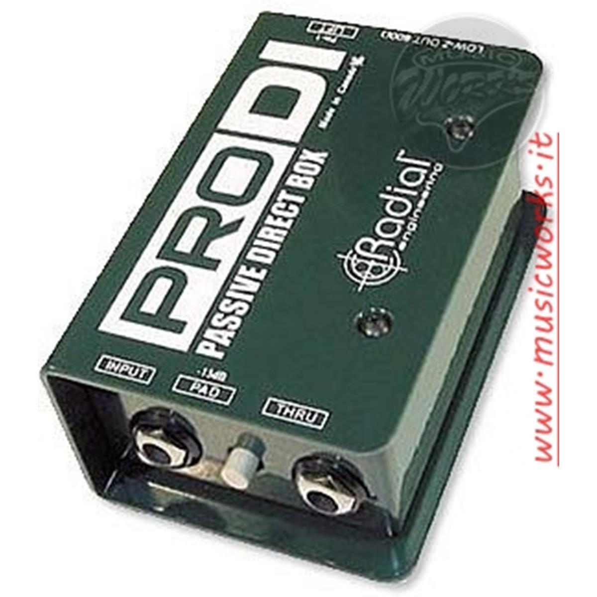 RADIAL PRO DI DIRECT BOX