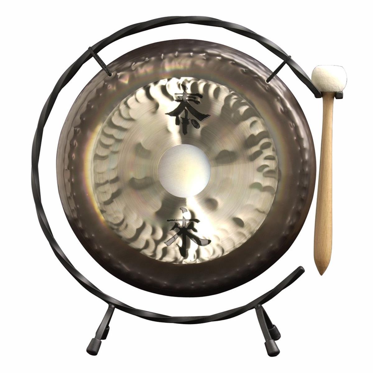 PAISTE DG10 - Paiste Deco Gong 10 c/Battente & Stand a terra