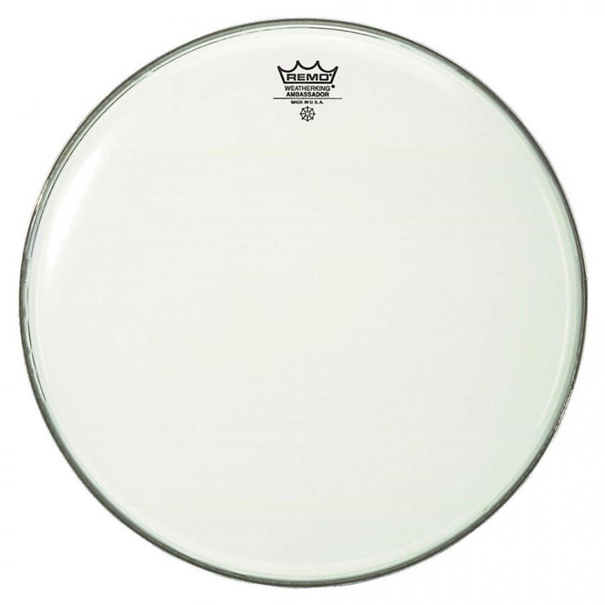 REMO AMBASSADOR SMOOTH WHITE PER CASSA 22 - Batterie / Percussioni Accessori - Pelli e Cerchi