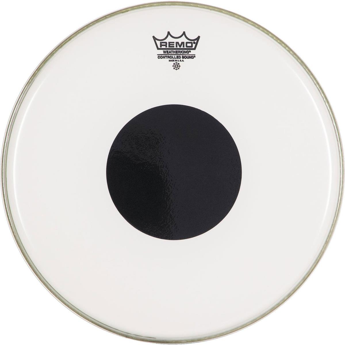 REMO CONTROLLED SOUND SMOOTH WHITE DOT BLACK 18