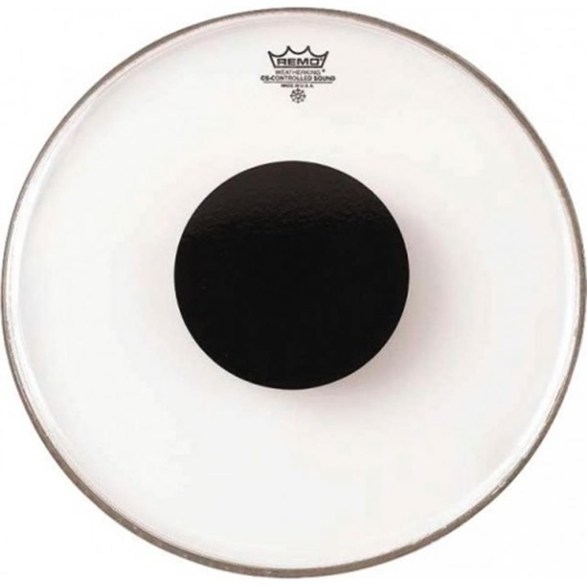 REMO CONTROLLED SOUND CLEAR DOT BLACK 6