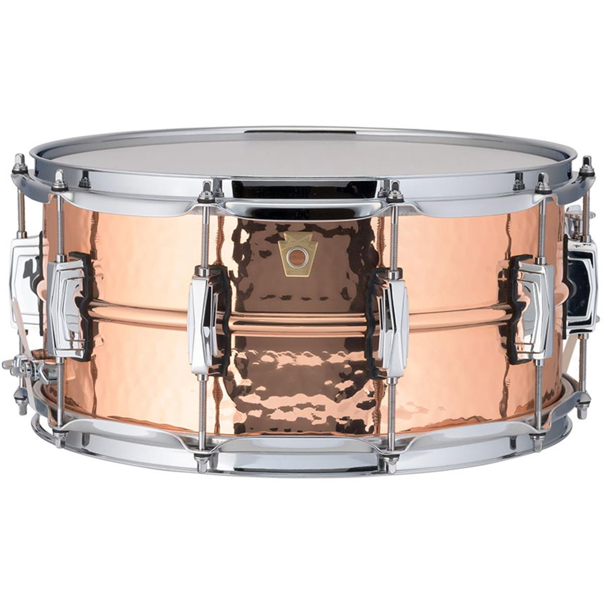LUDWIG LC662K - Ludwig rullante 6.5x14 Phonic Copper - Hammered Finish - Blocchetti Imperial