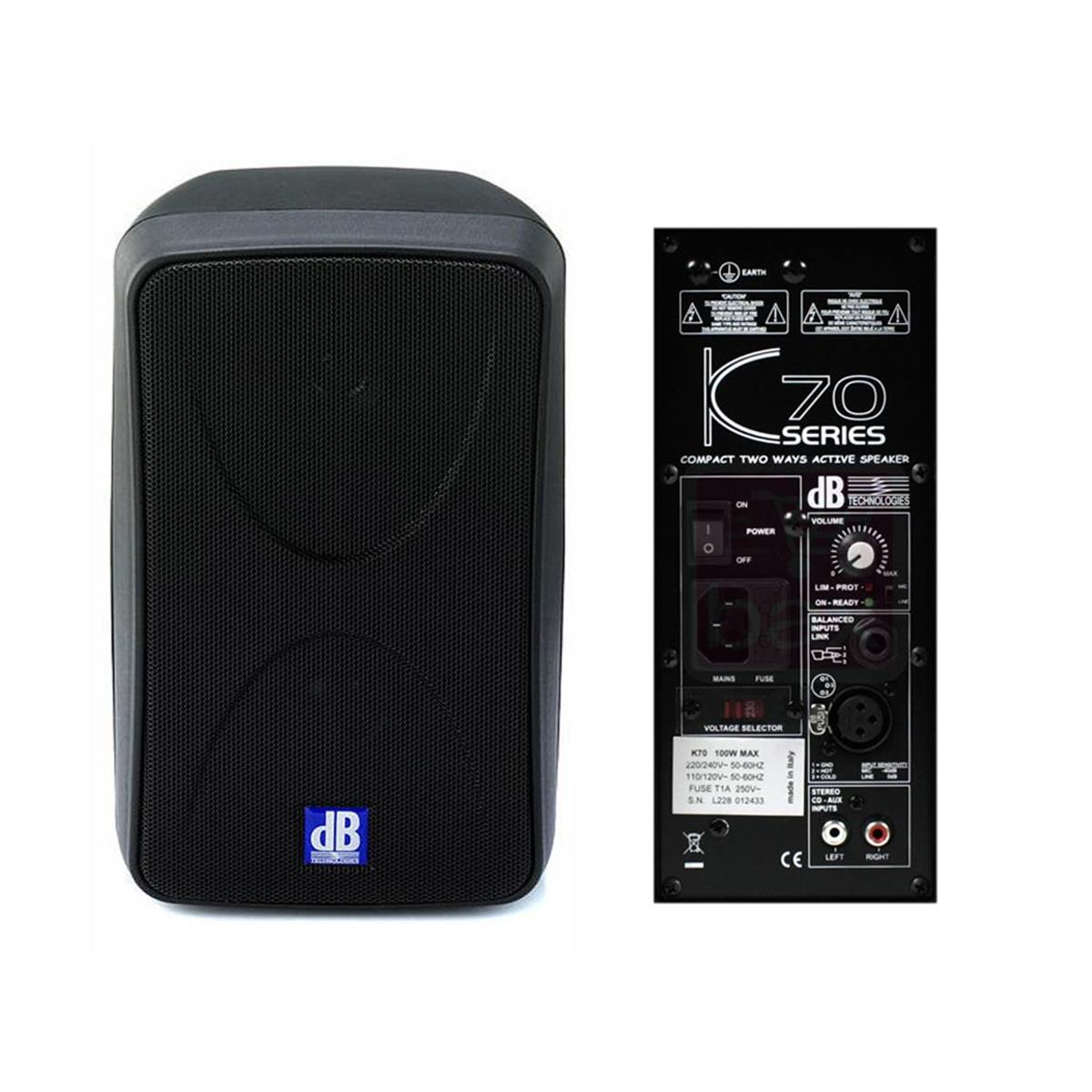 DB TECHNOLOGIES K70 MONITOR