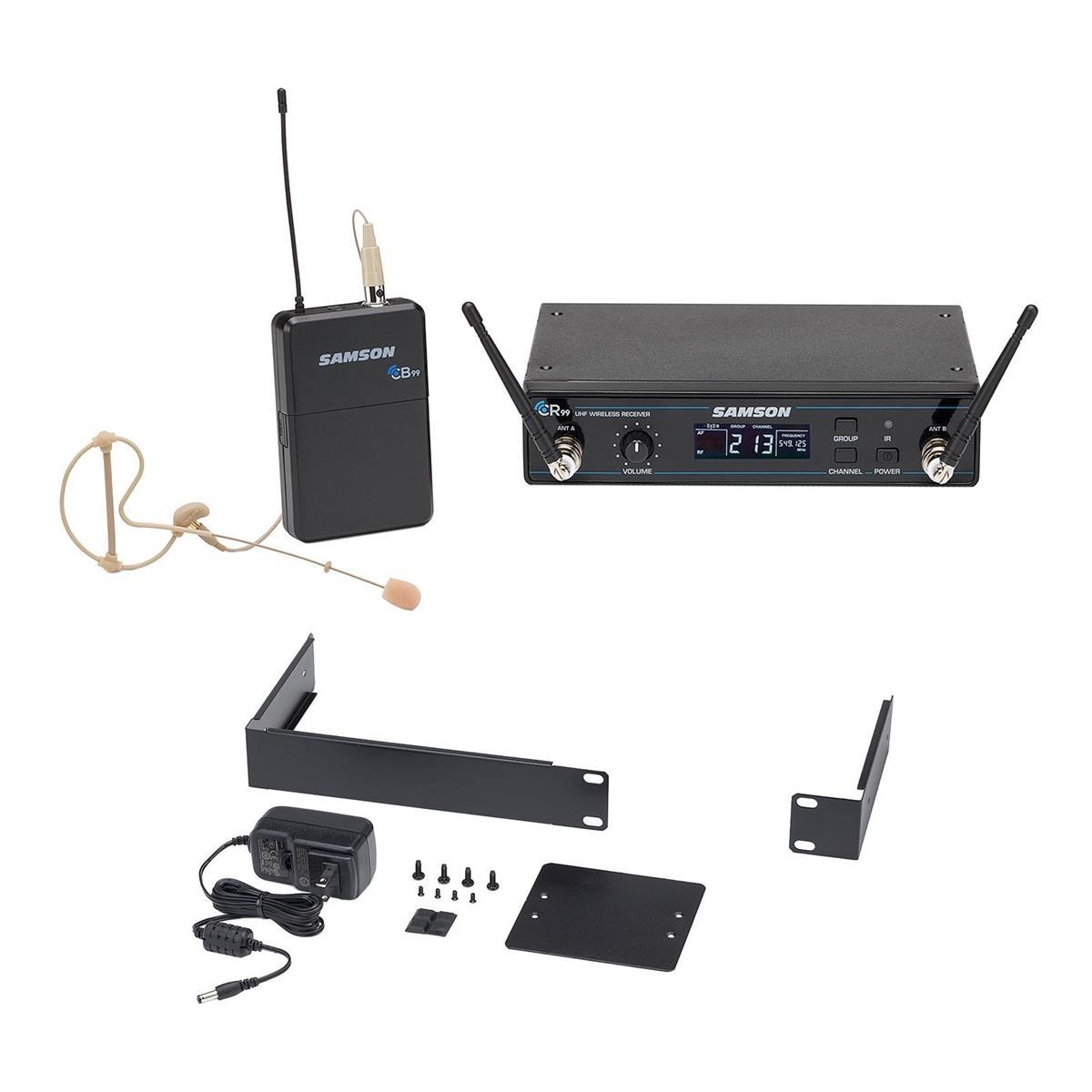 Samson CONCERT 99 UHF Earset System - C (638-662 MHz)