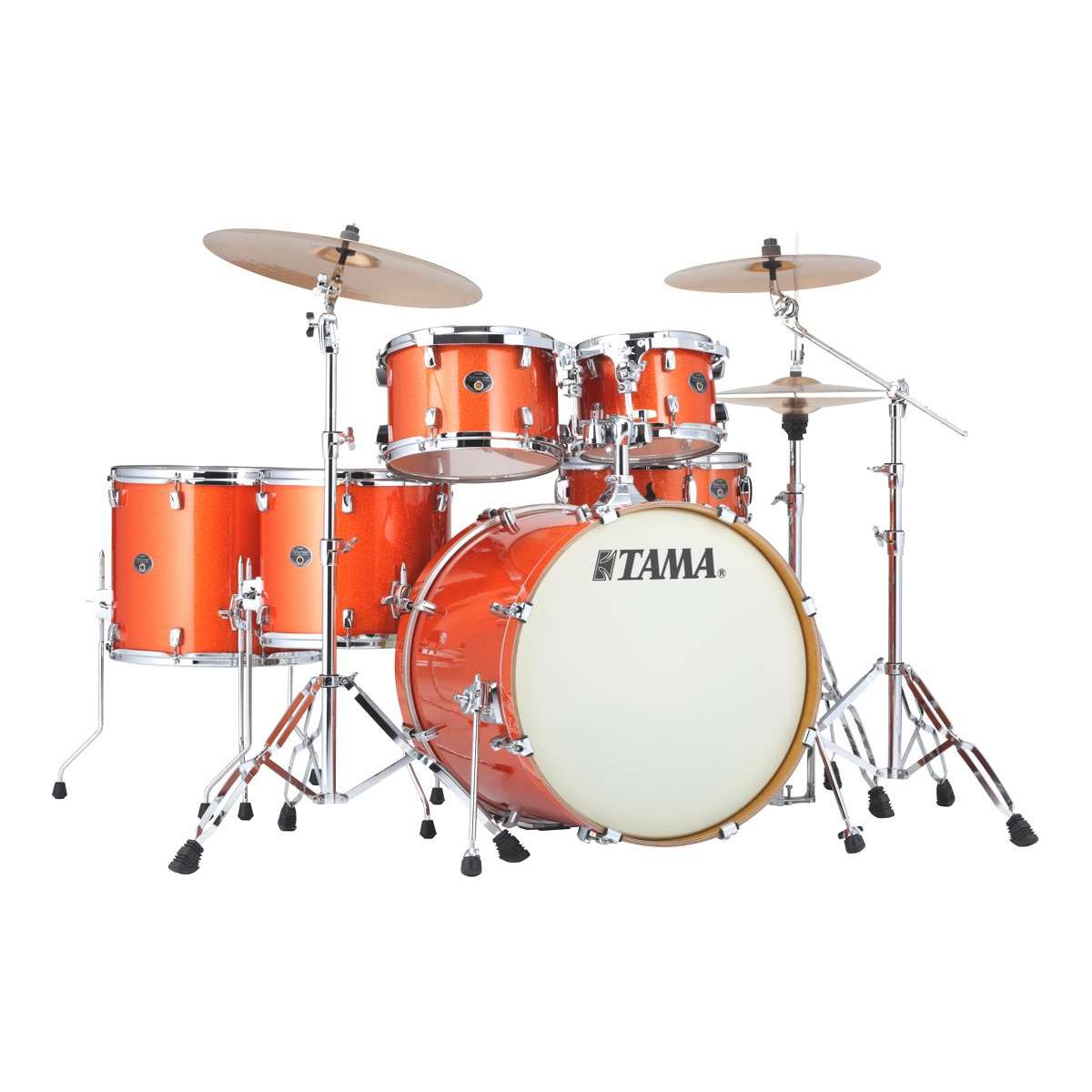 Tama SilverStar VD62RS-BOS - shell kit - finitura Bright Orange Sparkle
