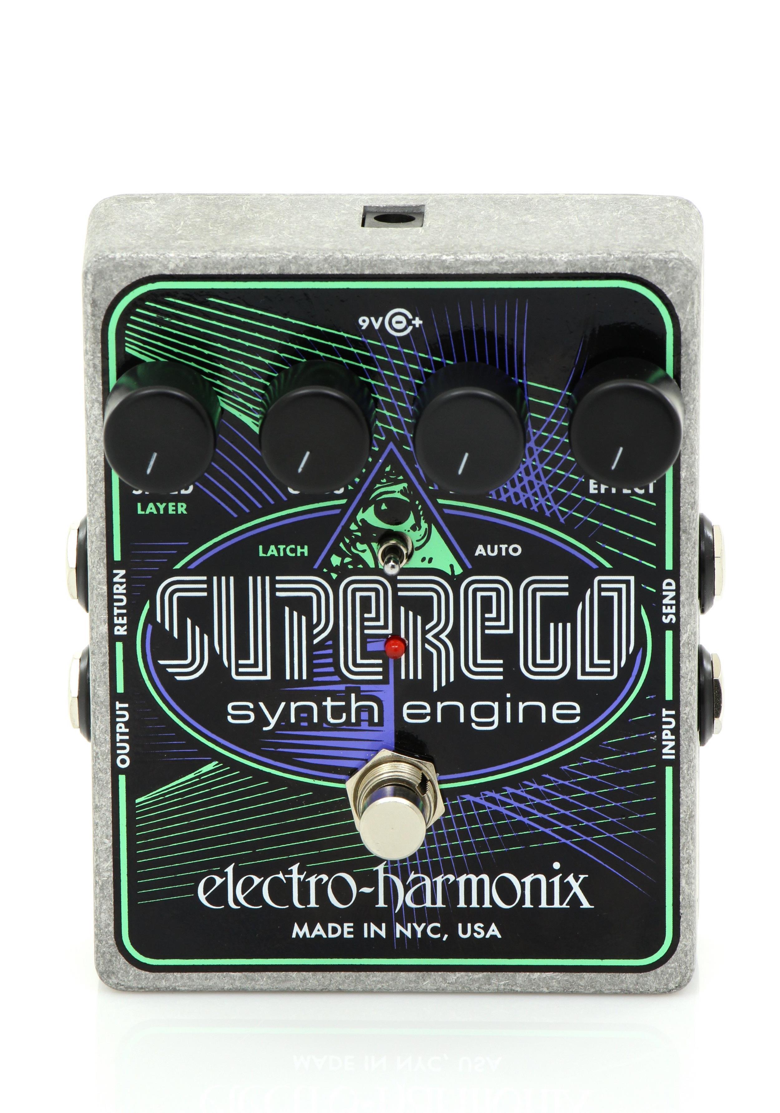 ELECTRO HARMONIX SUPEREGO - Chitarre Effetti - Synth