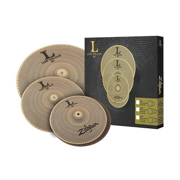 Zildjian Cartone 4 L80 Low Volume (LV348): ride + hi-hat + crash SET PACK