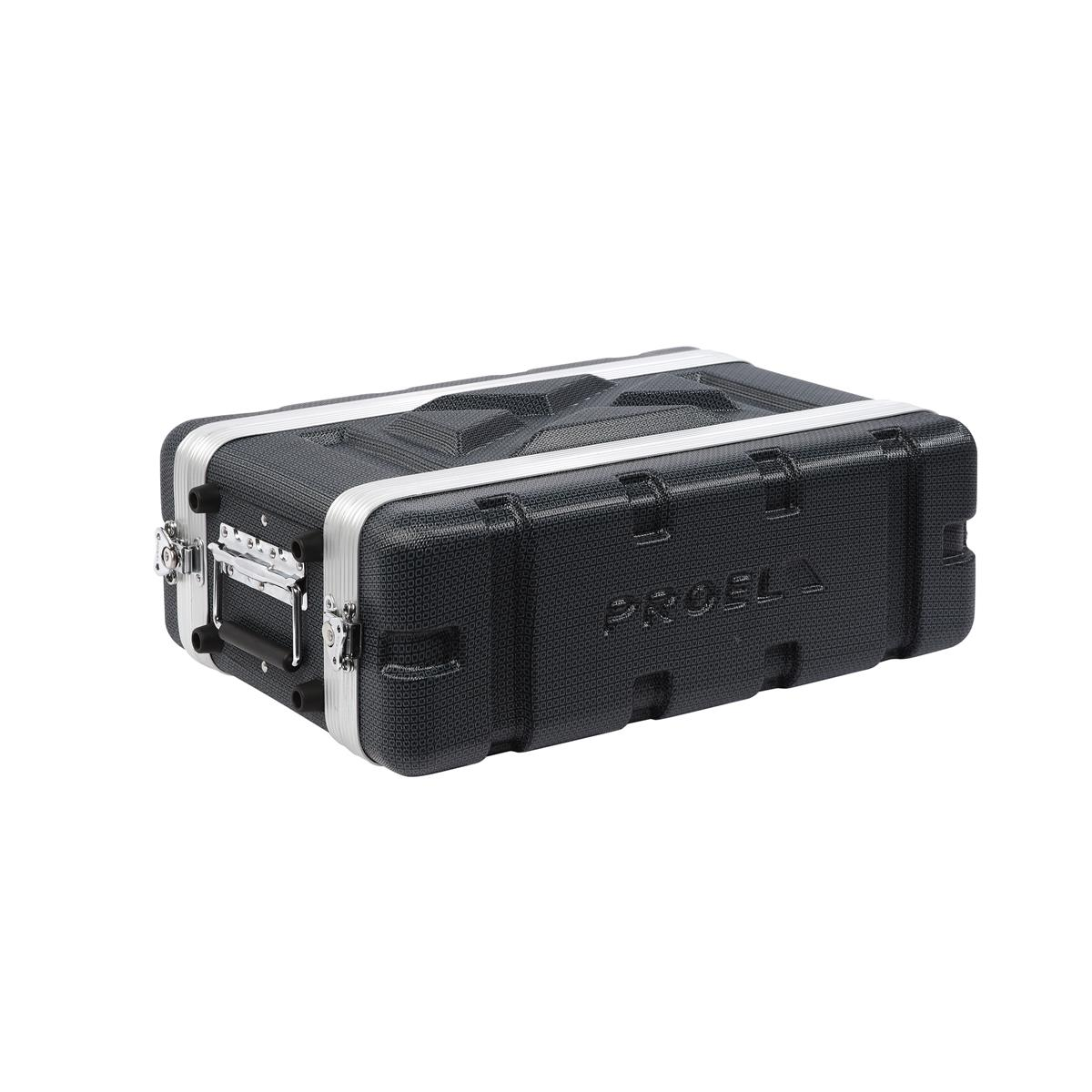 PROEL FORCE FOABSR2US RACK FLIGHT CASE 2 UNITA ABS CORTO - Dj Equipment Accessori - Borse e Custodie DJ