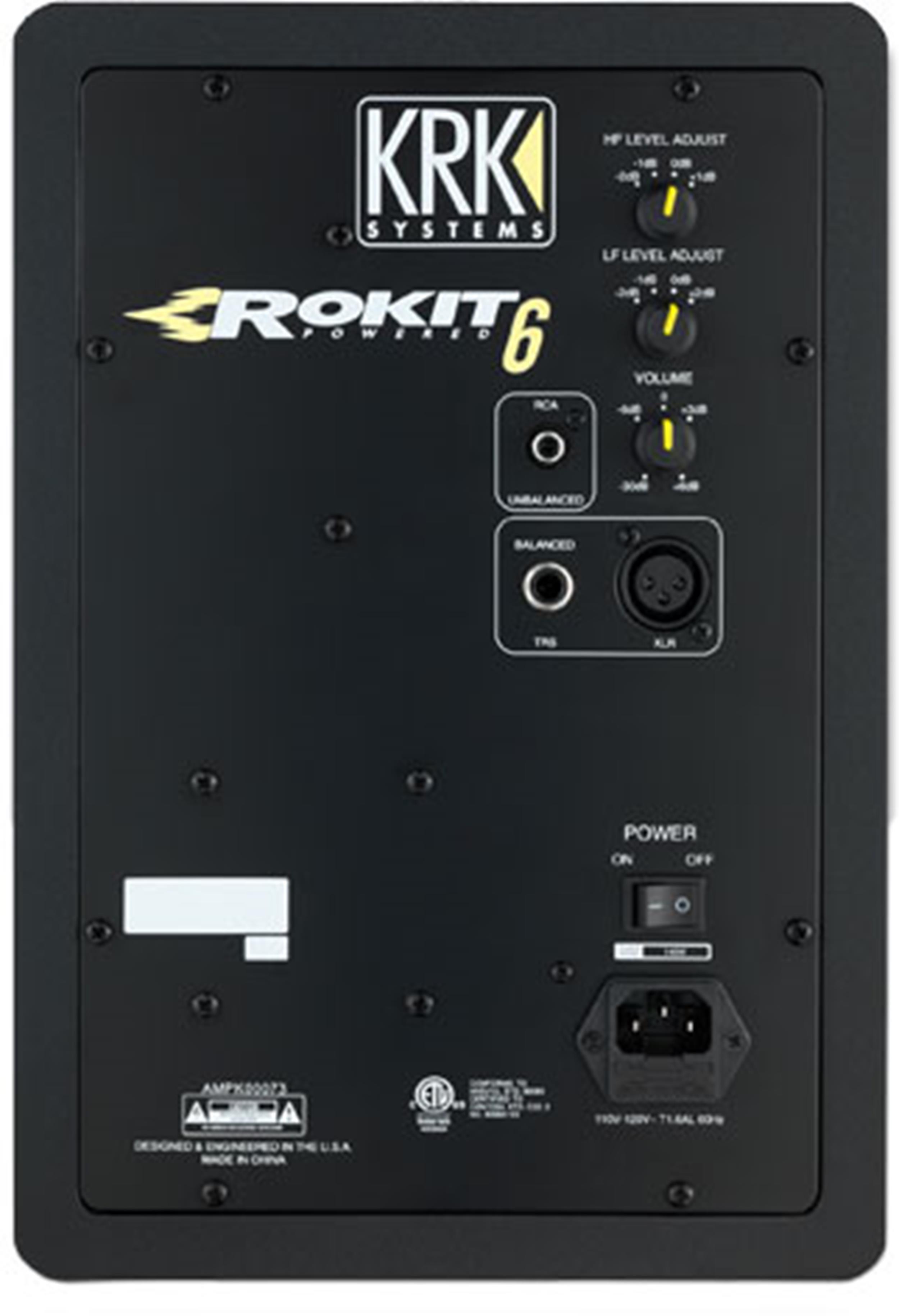 KRK ROKIT 6 G3 MONITOR ATTIVO RP6