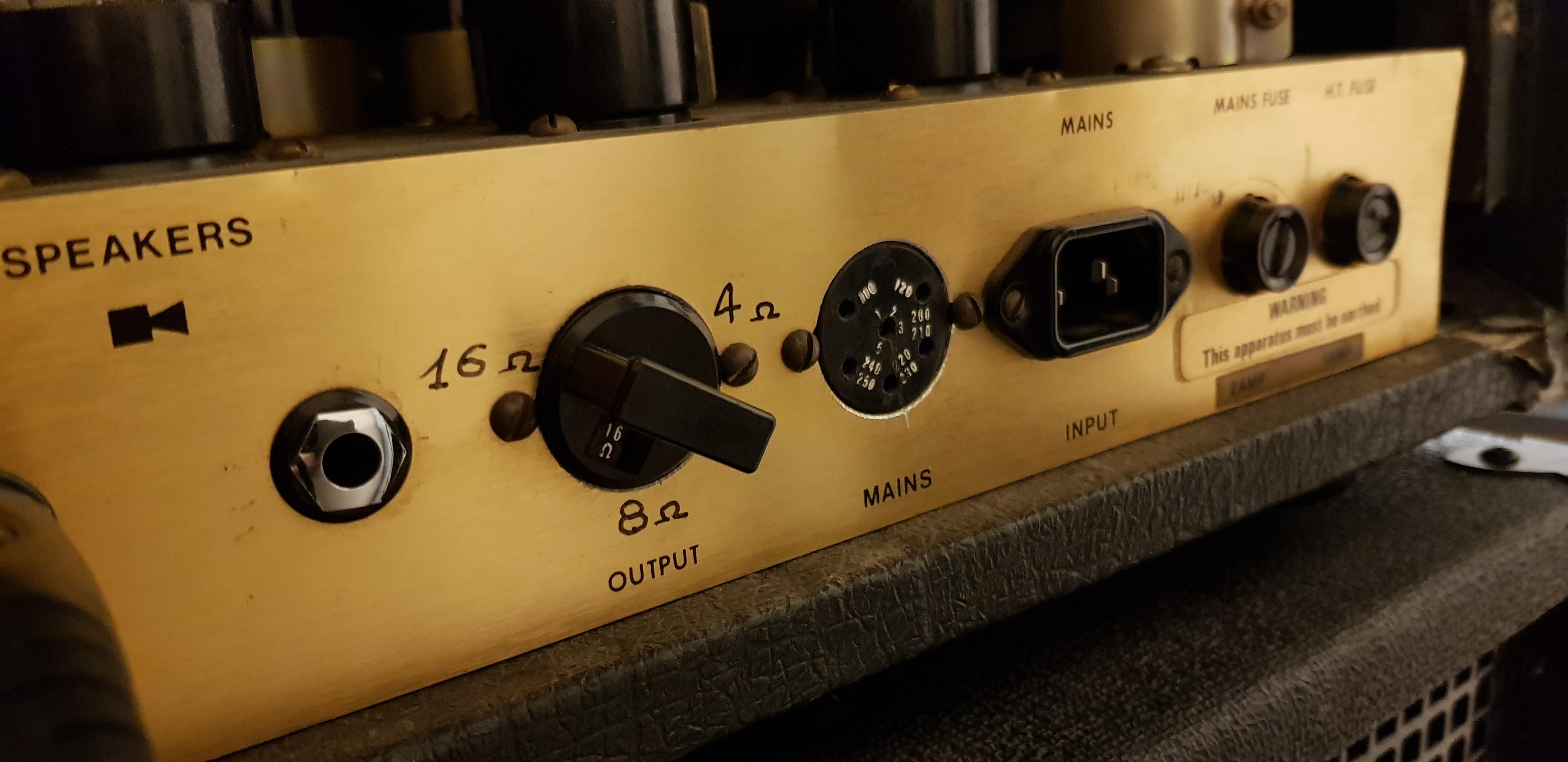 MARSHALL 2048 JMP ARTISTE HEAD 1978 .