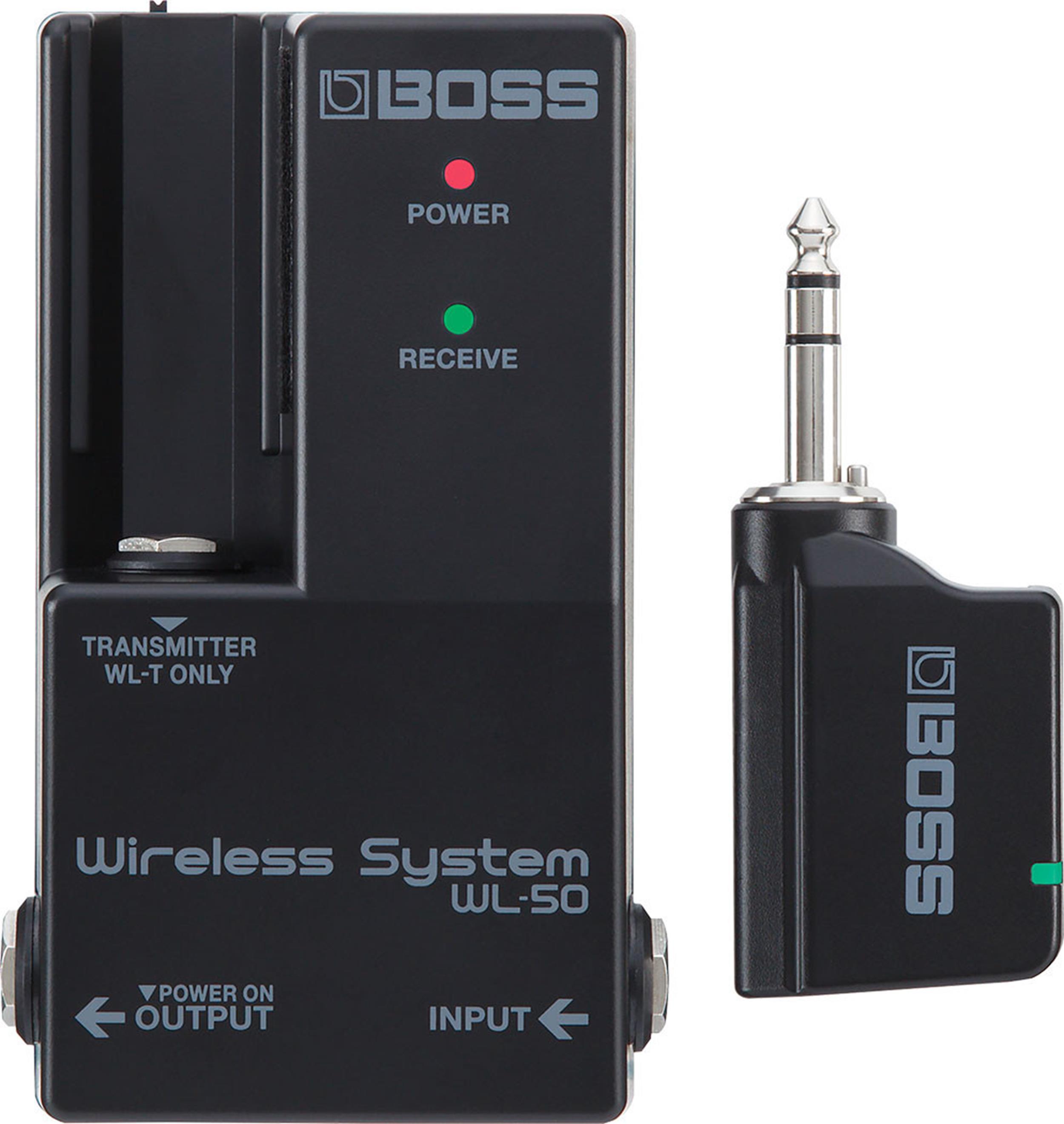 BOSS WL 50 WIRELESS GUITAR SYSTEM