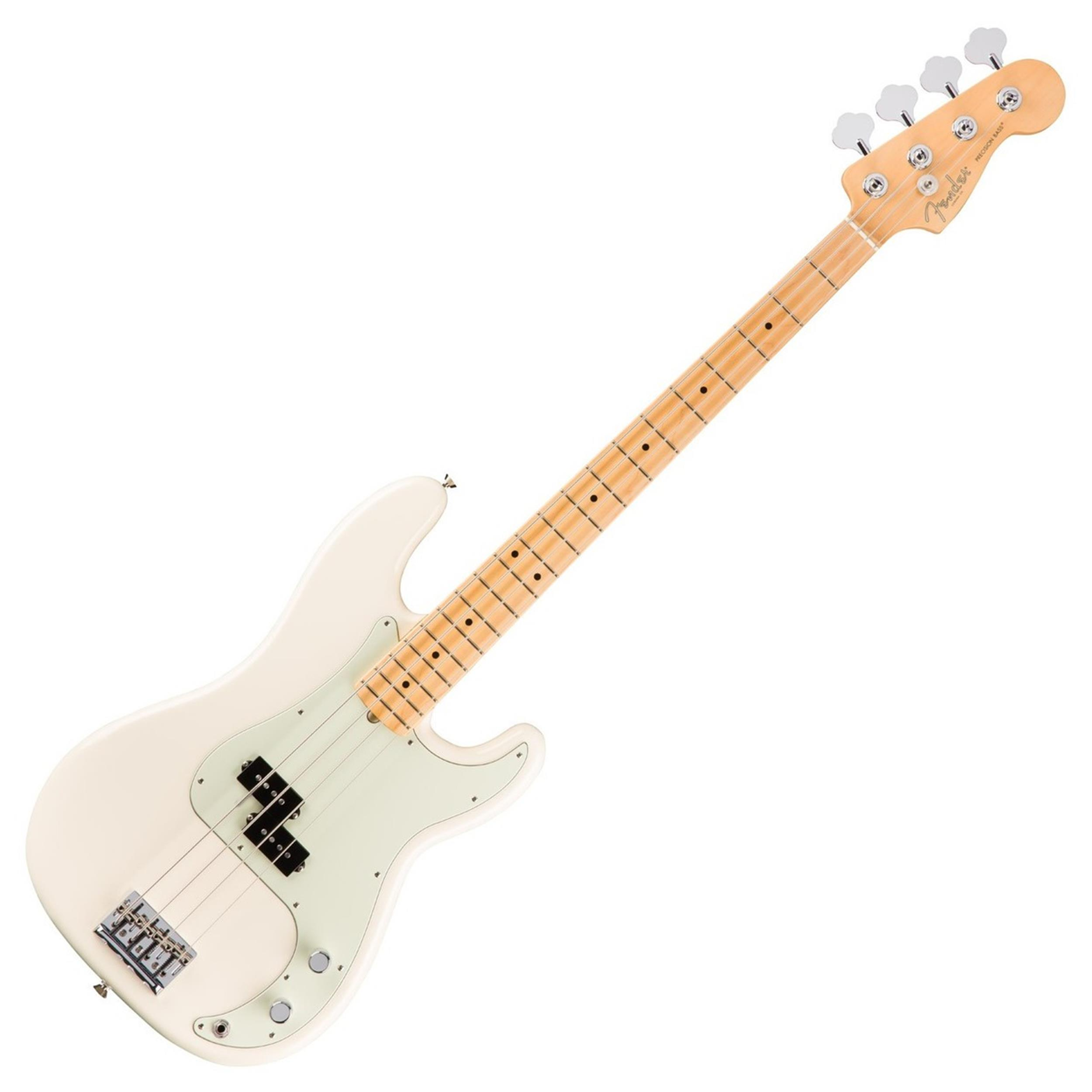 FENDER American Pro Professional Precision Bass MN Olympic White 0193612705  0193612705