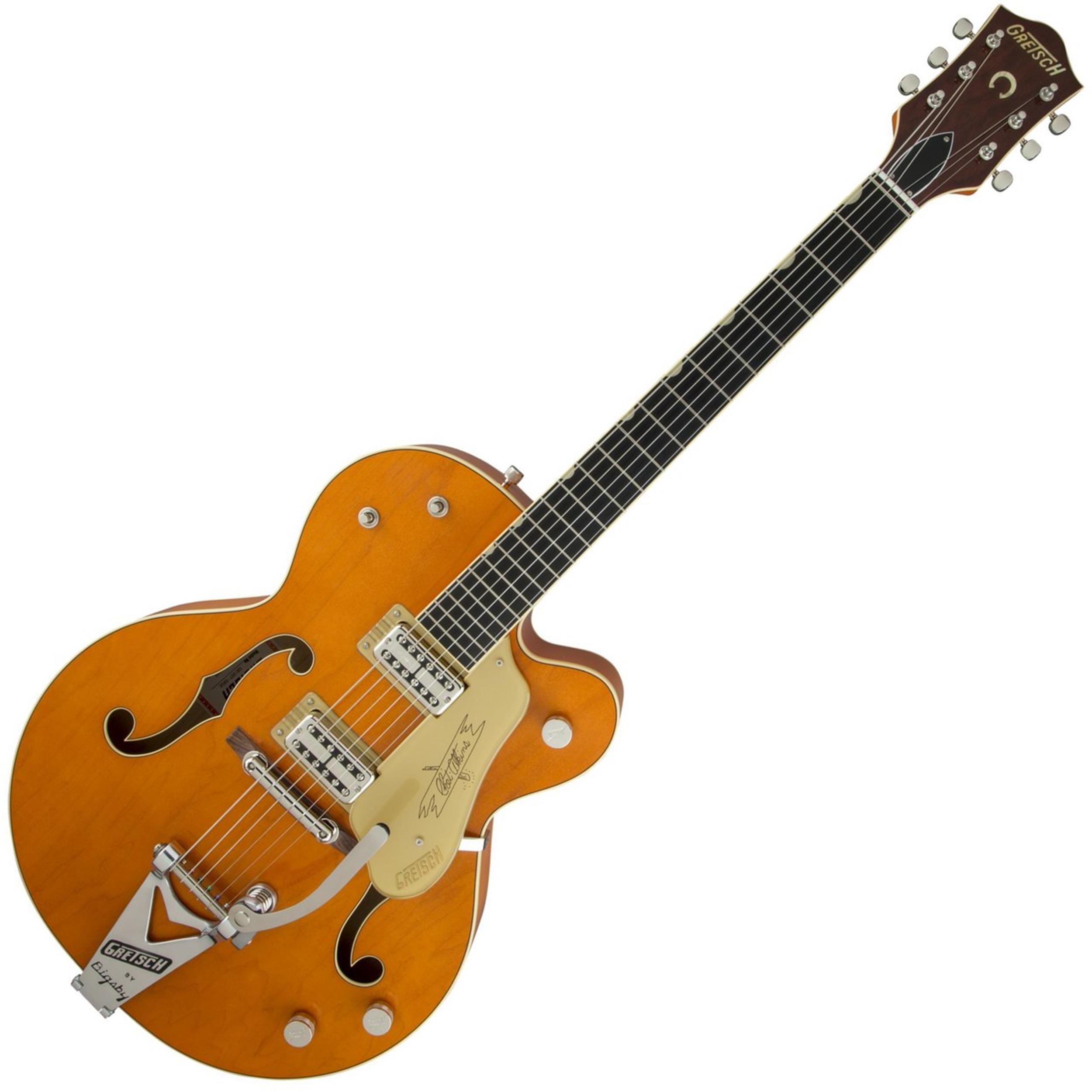 GRETSCH G6120T- Vintage Select Edition 59 Chet Atkins Hollow Body - Orange Stain Lacquer  2401353822