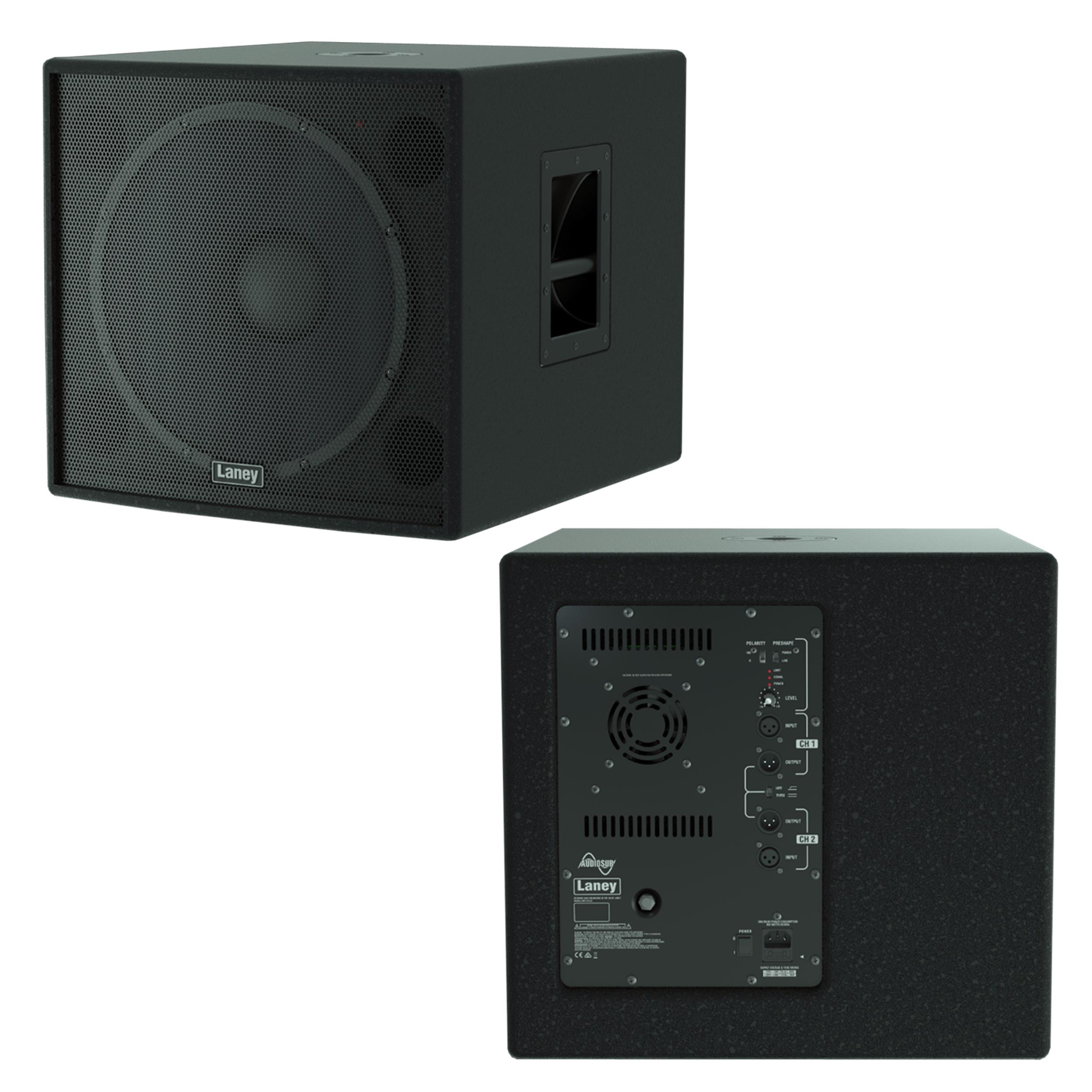 Laney AUDIOSUB - Sub Woofer Attivo 1x15 1200W