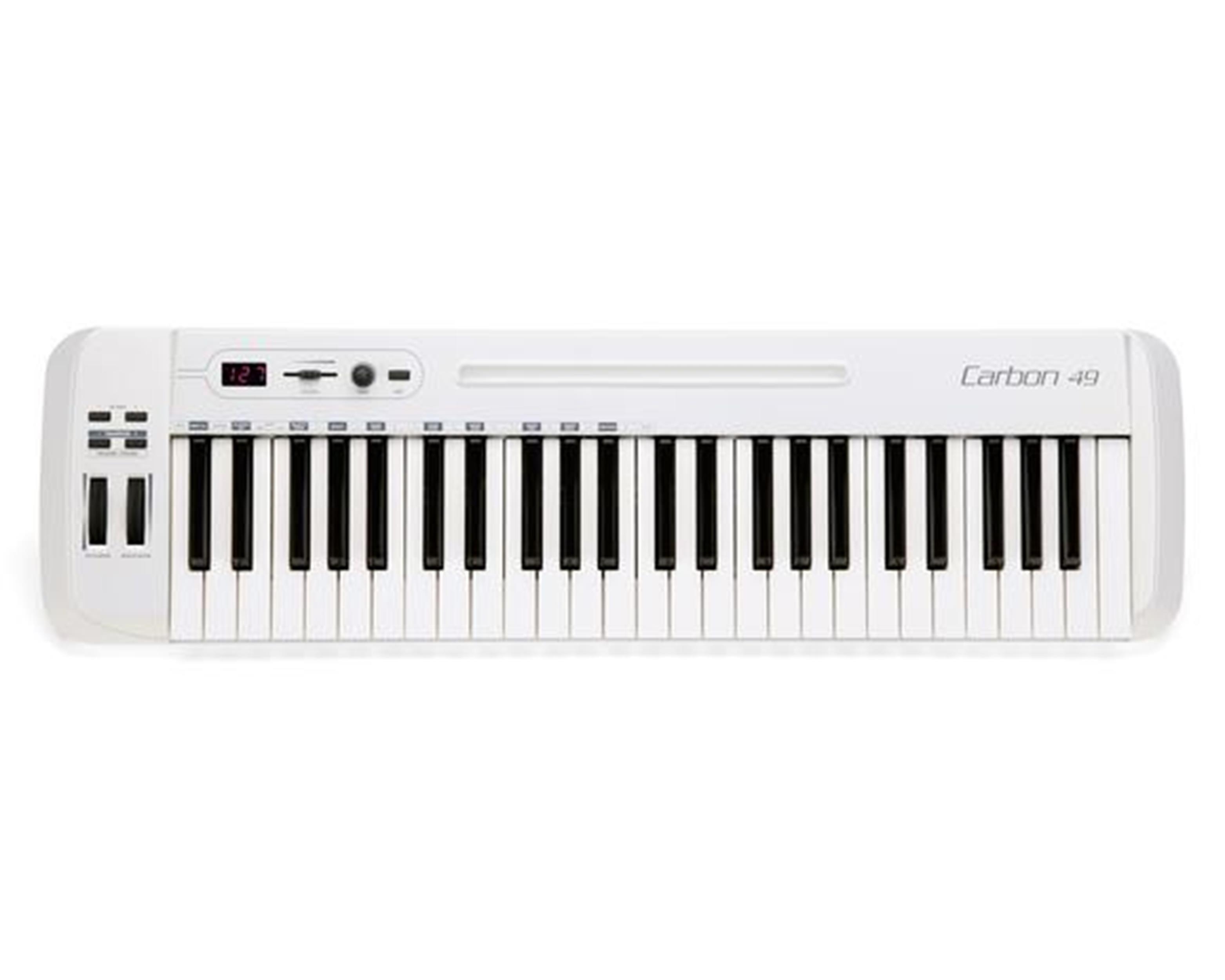 SAMSON-CARBON-49-MASTER-KEYBOARD-MIDI-Controller-USB-sku-10826