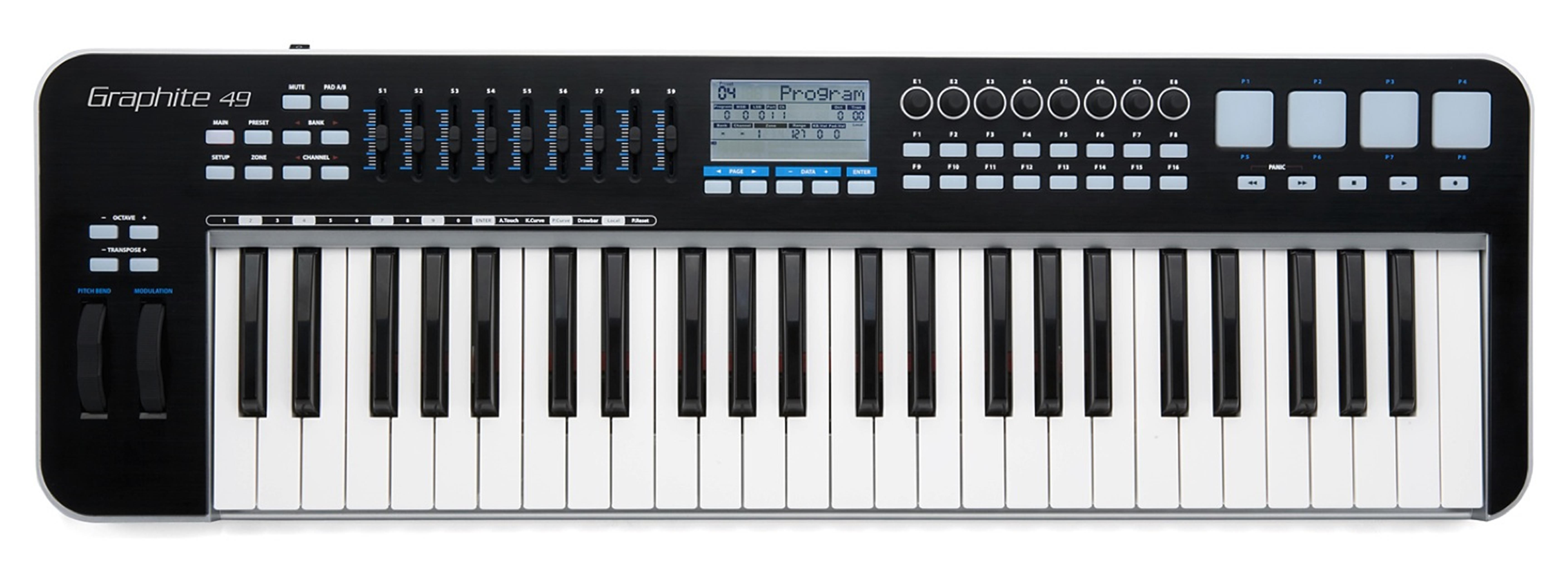 SAMSON GRAPHITE 49 - MIDI Controller USB