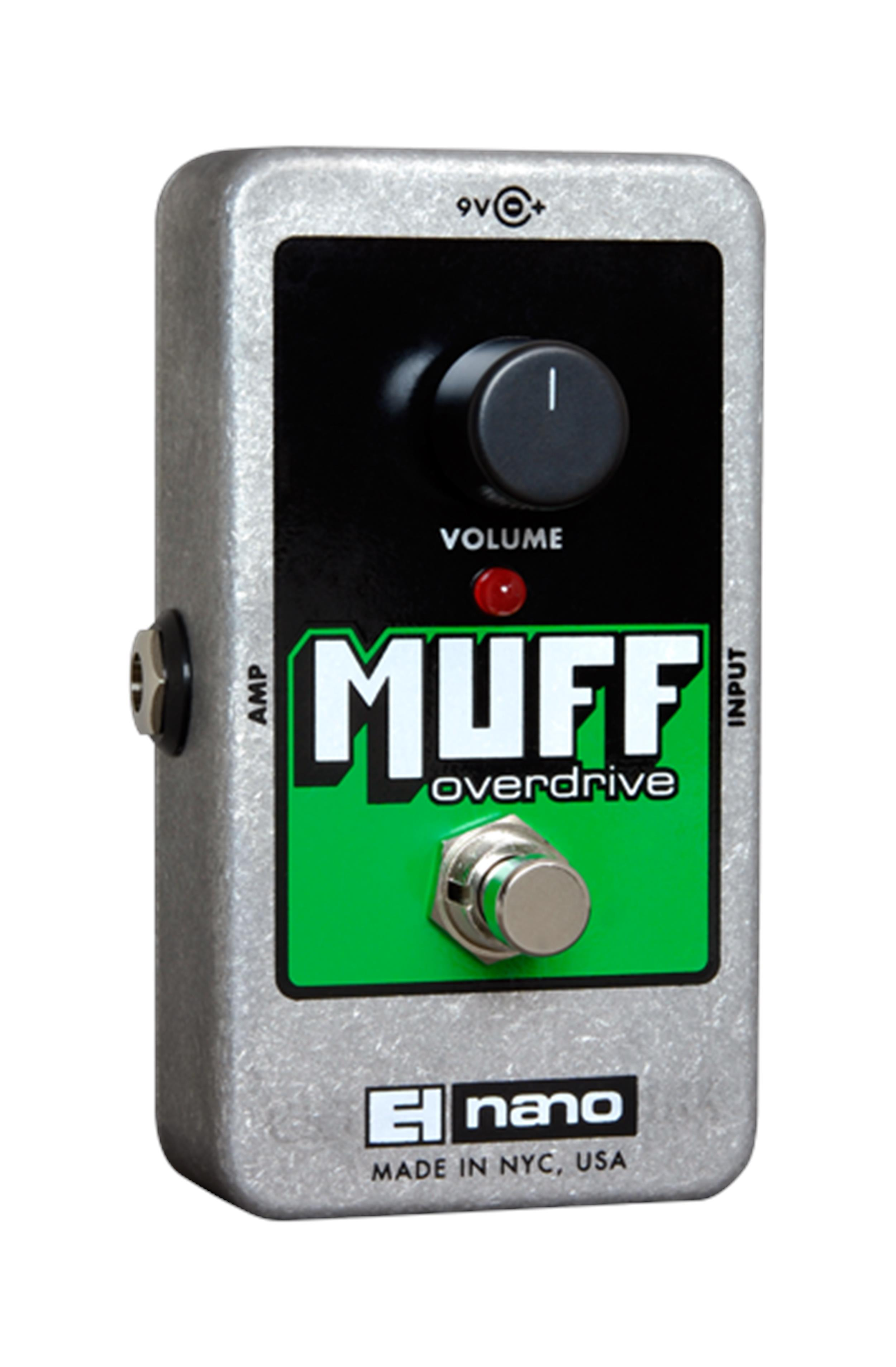 ELECTRO HARMONIX MUFF OVERDRIVE REISSUE GREEN