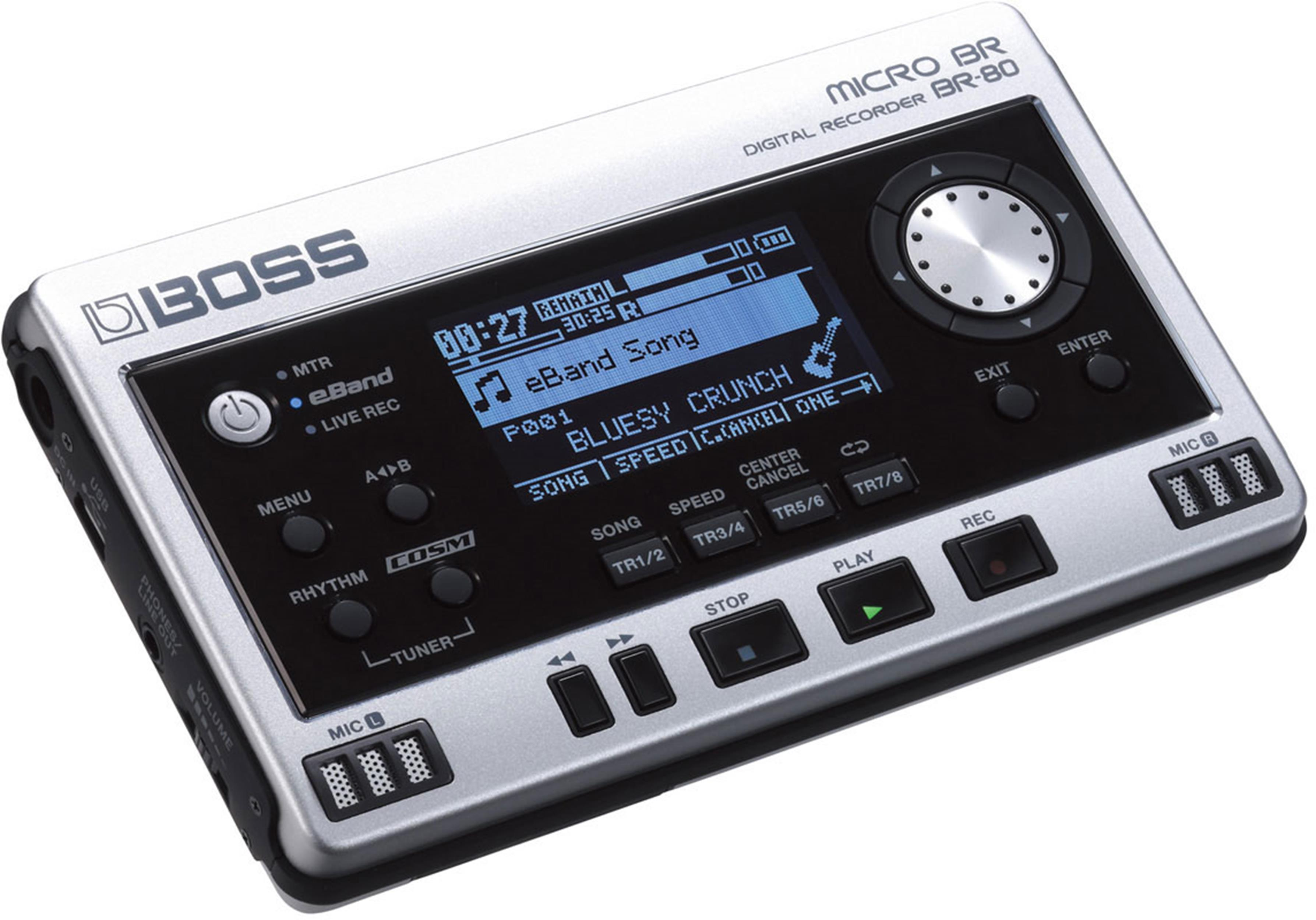 BOSS BR 80 MICRO BR DIGITAL RECORDER