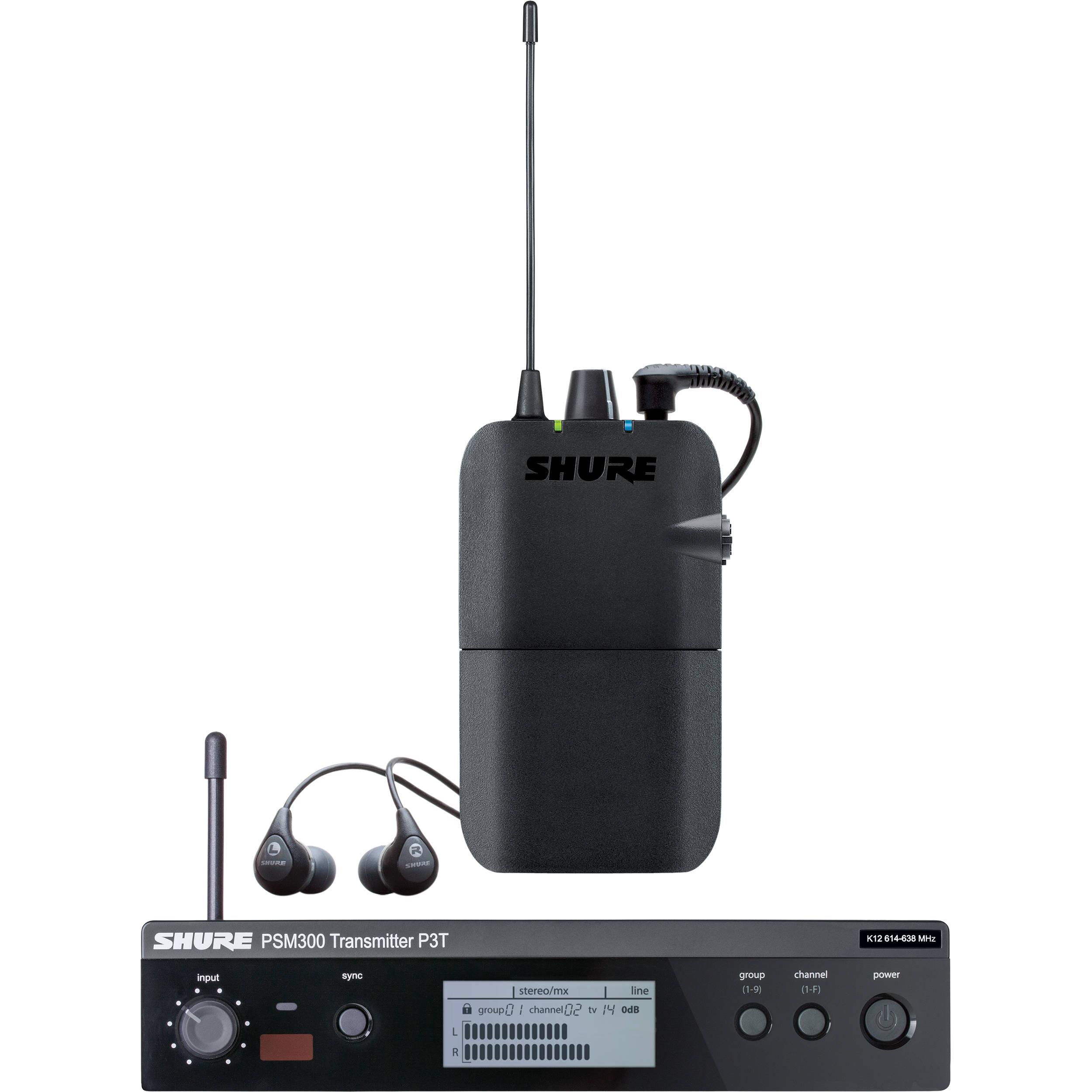 SHURE PSM300 SISTEMA EAR MONITOR