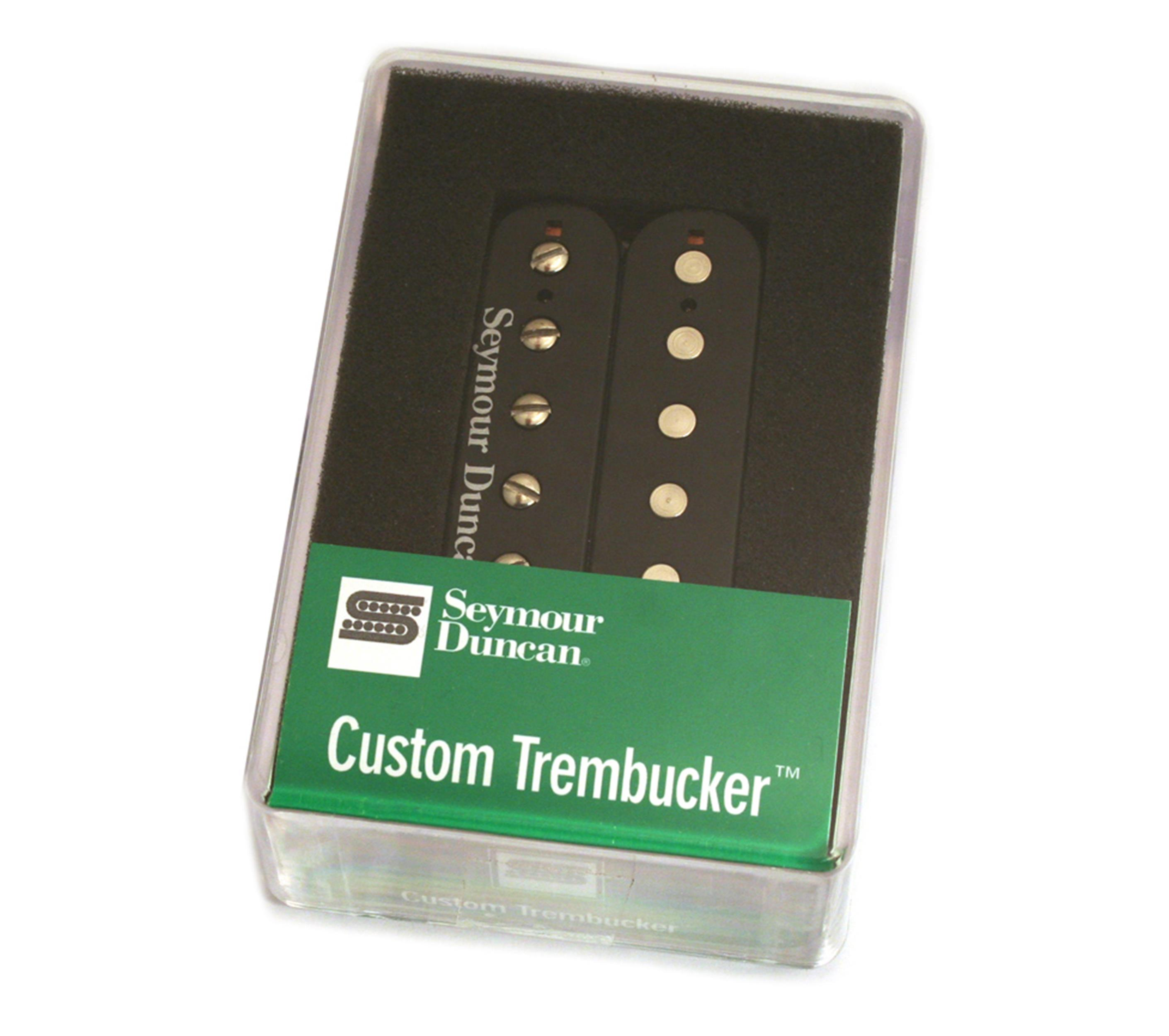 SEYMOUR-DUNCAN TB 5 B CUSTOM TREMBUCKER BRIDGE BLACK