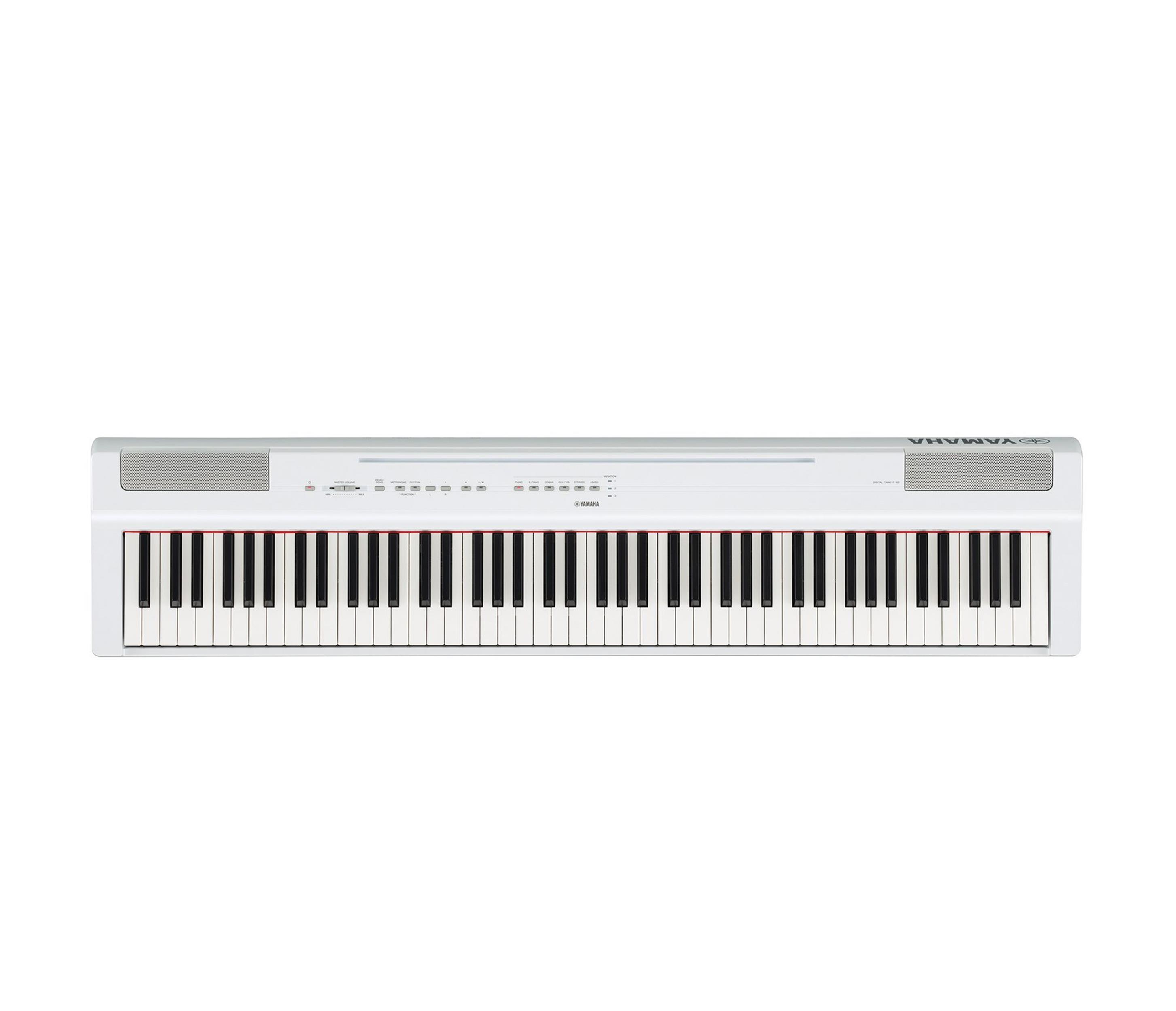 YAMAHA P125WH - DIGITAL PIANO WHITE