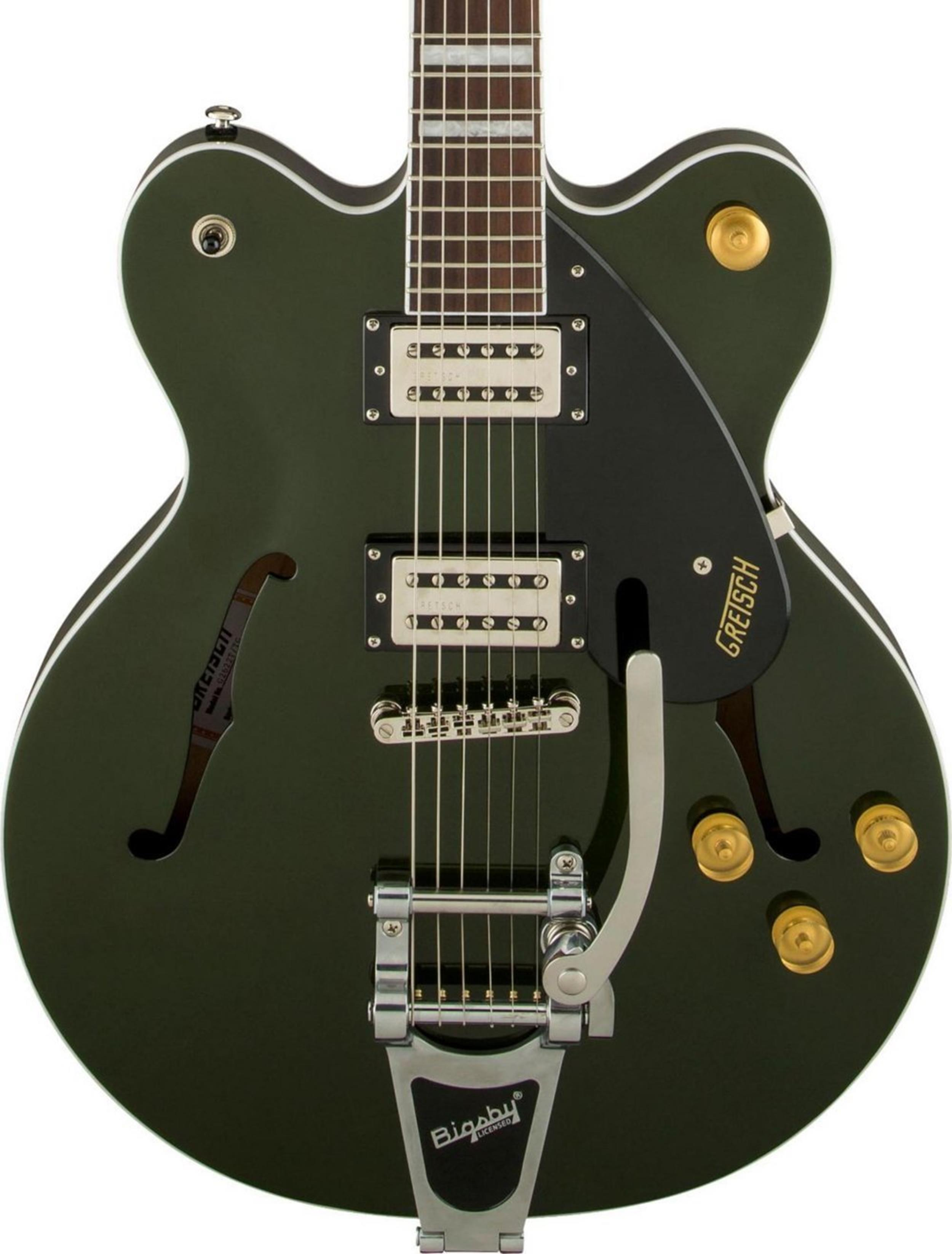 GRETSCH G2622T STREAMLINER CENTER BLOCK W BIGSBY TORINO GREEN - 2800600580