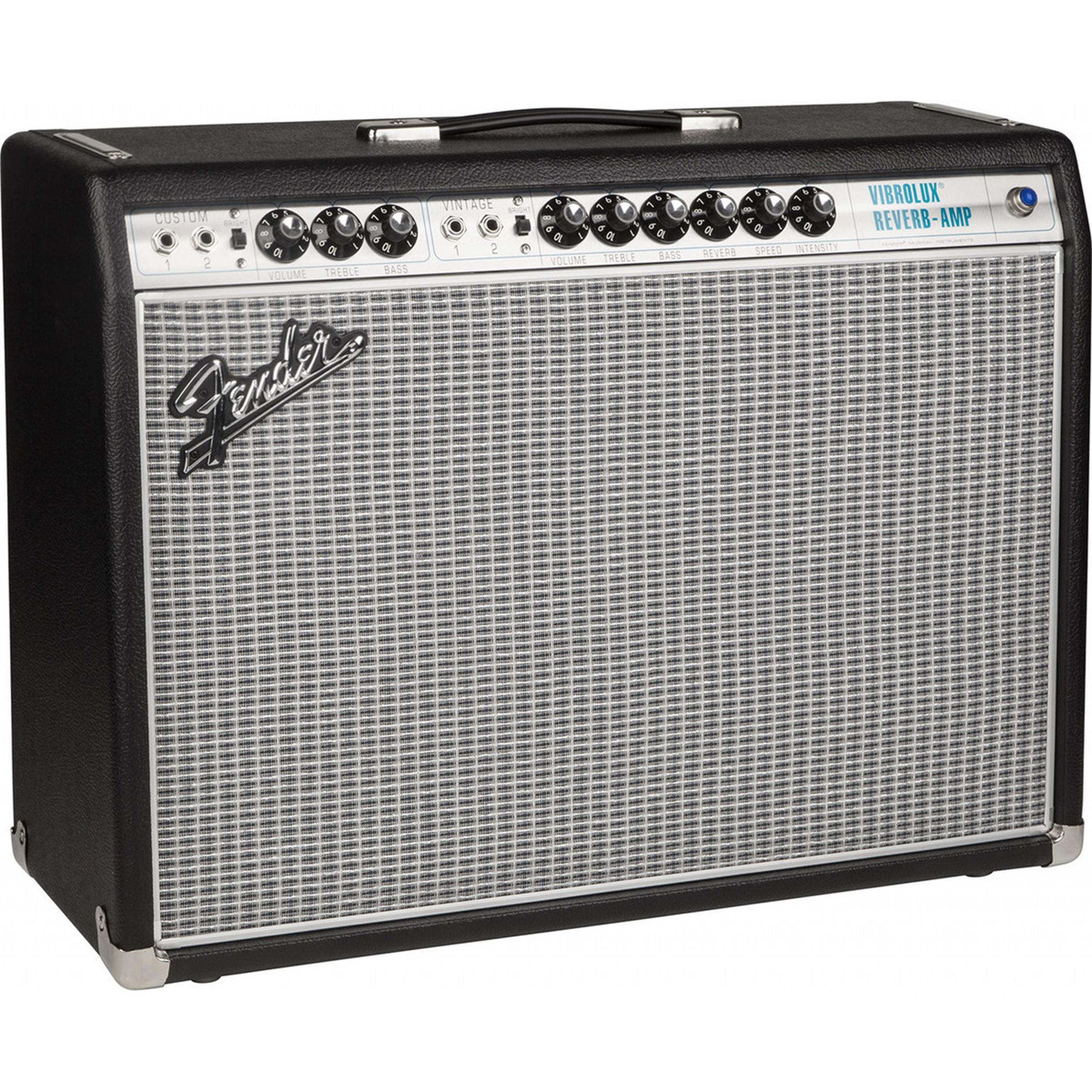 FENDER 68 CUSTOM VIBROLUX REVERB AMP- 2275006000