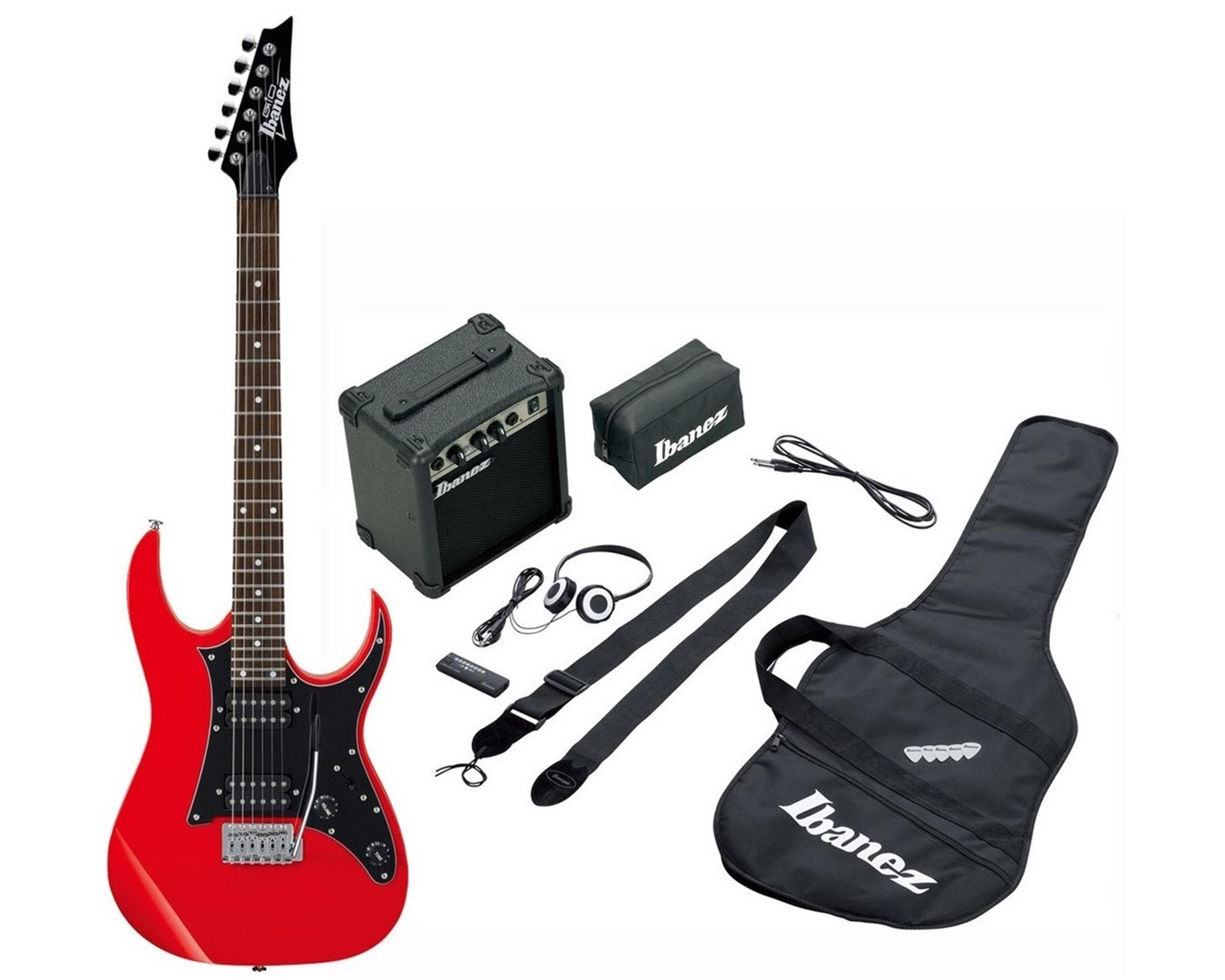 IBANEZ IJRG200-RD Jumpstart - red