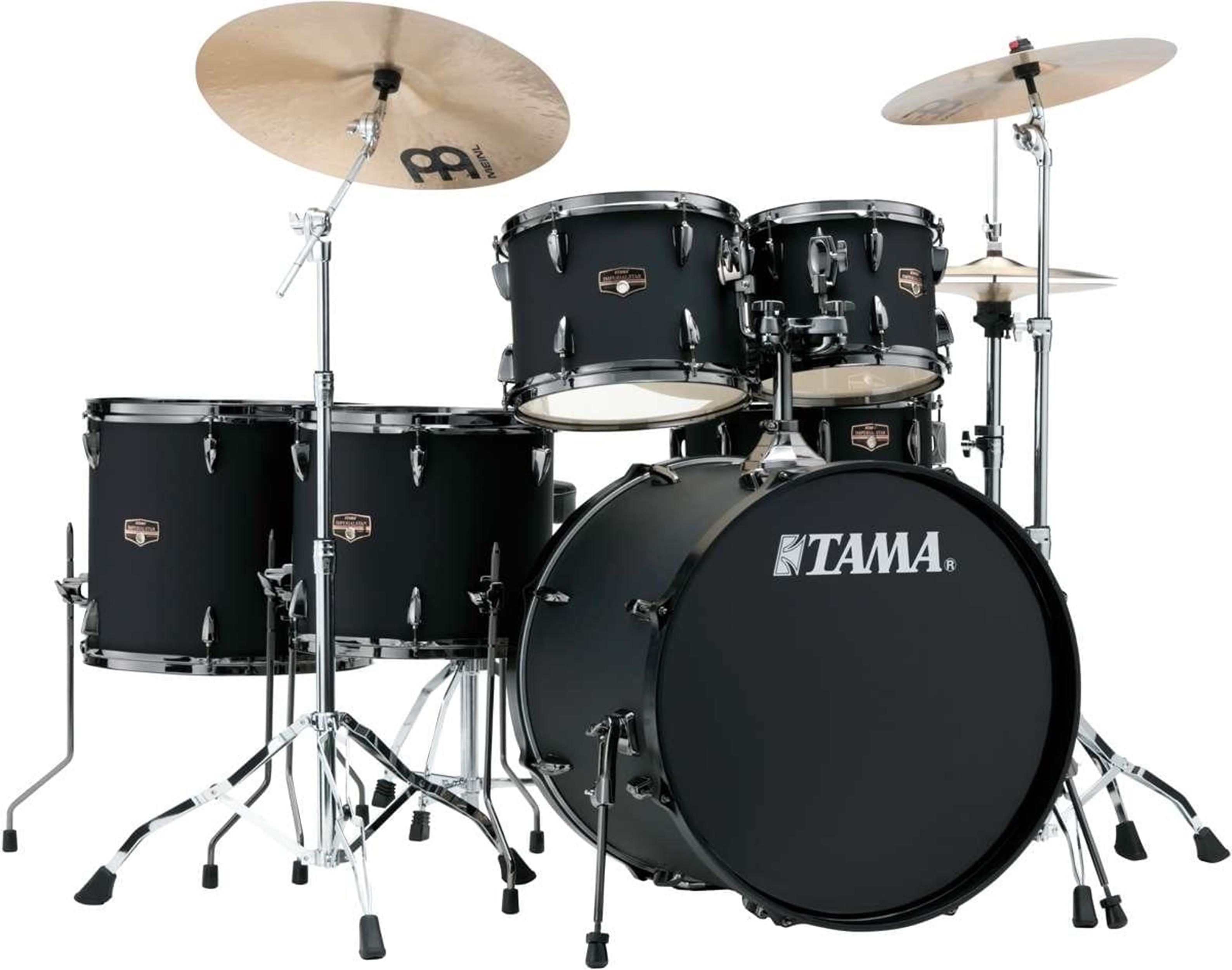 TAMA ImperialStar IP62H6N-BBOB - batteria completa - finitura Blacked Out Black