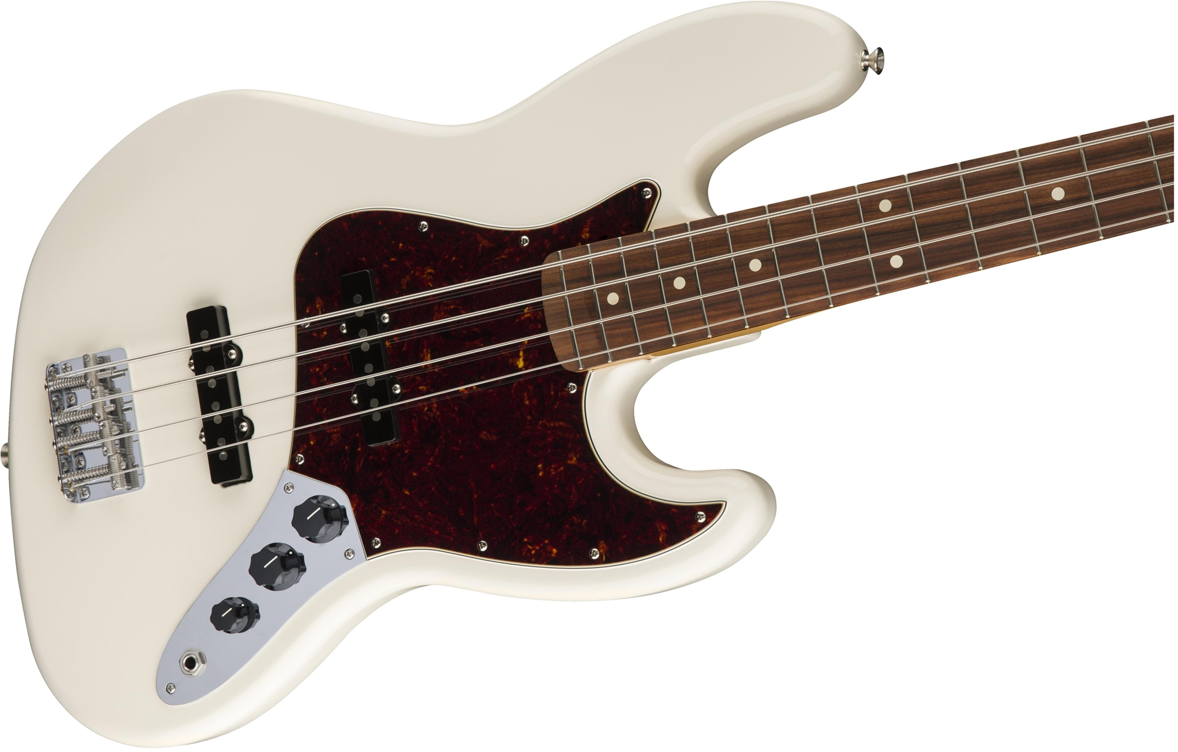 FENDER CLASSIC 60 JAZZ BASS OLYMPIC WHITE 0131803305