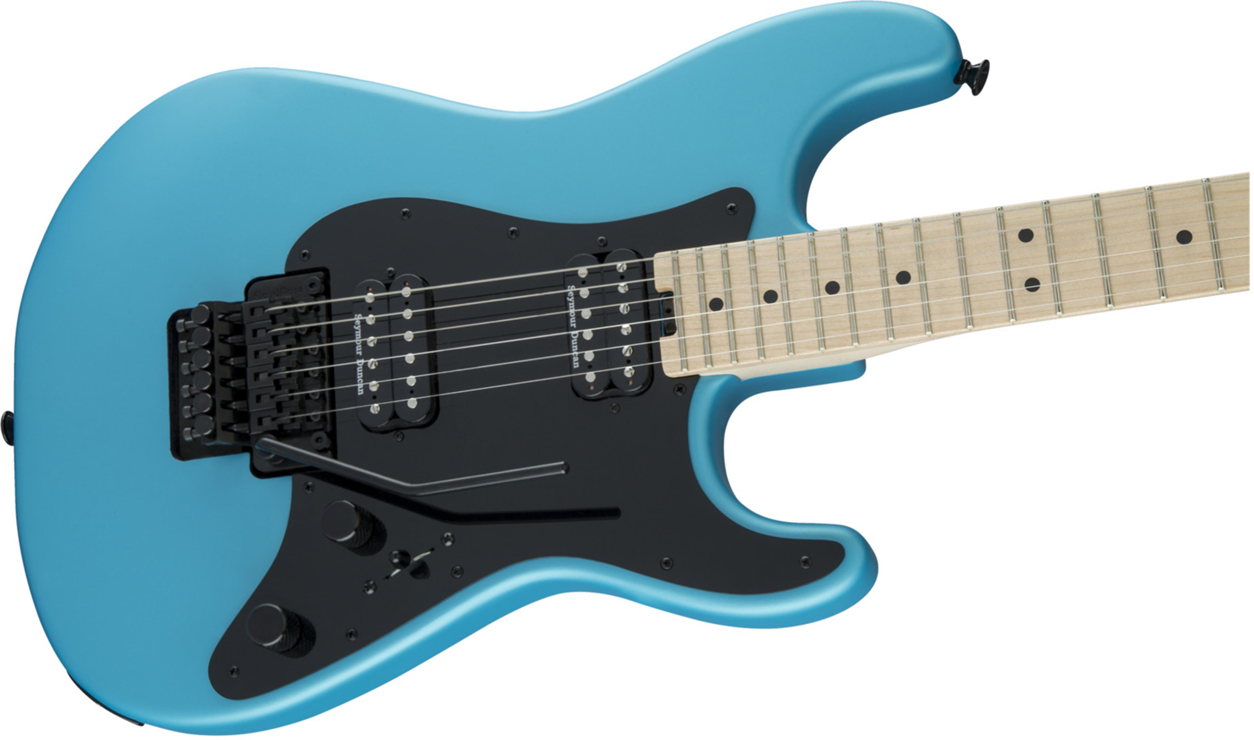 CHARVEL Pro-Mod So-Cal Style sc 1 HH FR M  Matte Blue Frost 2966001534