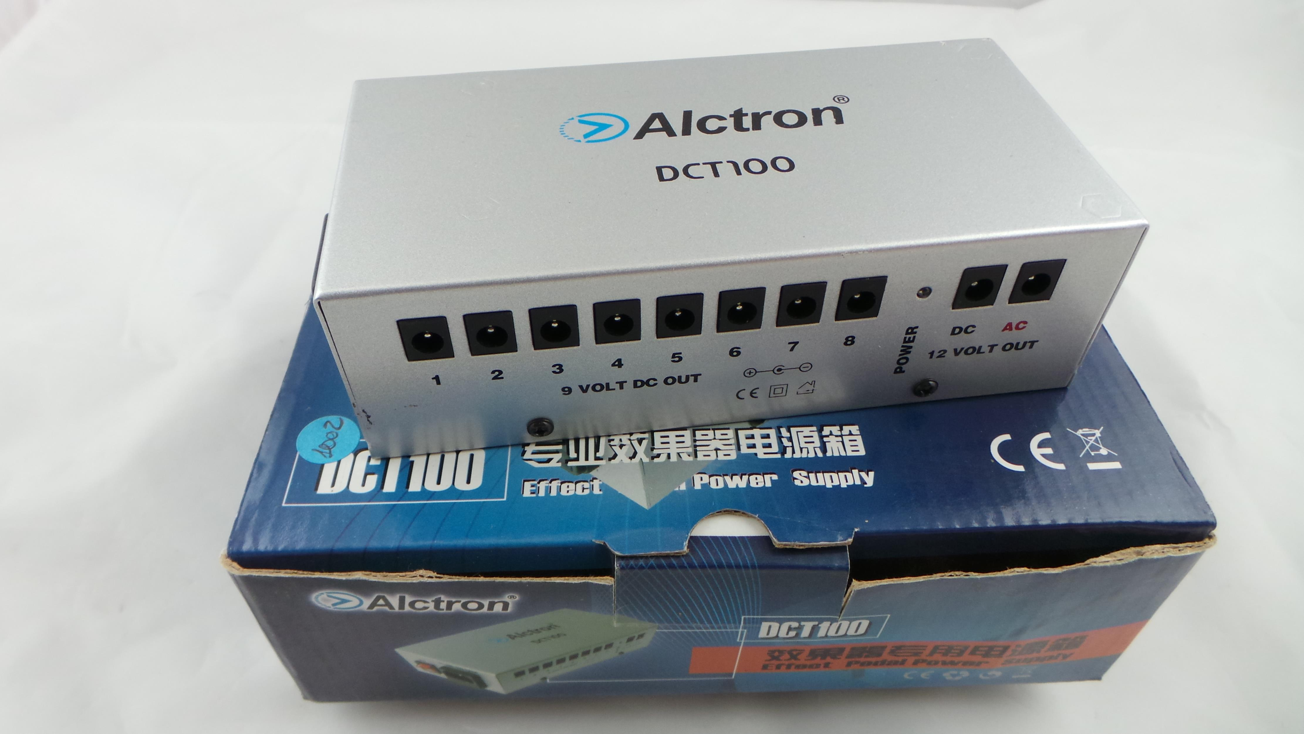 ALCTRON DCT 100 PEDAL POWER SUPPLY ..