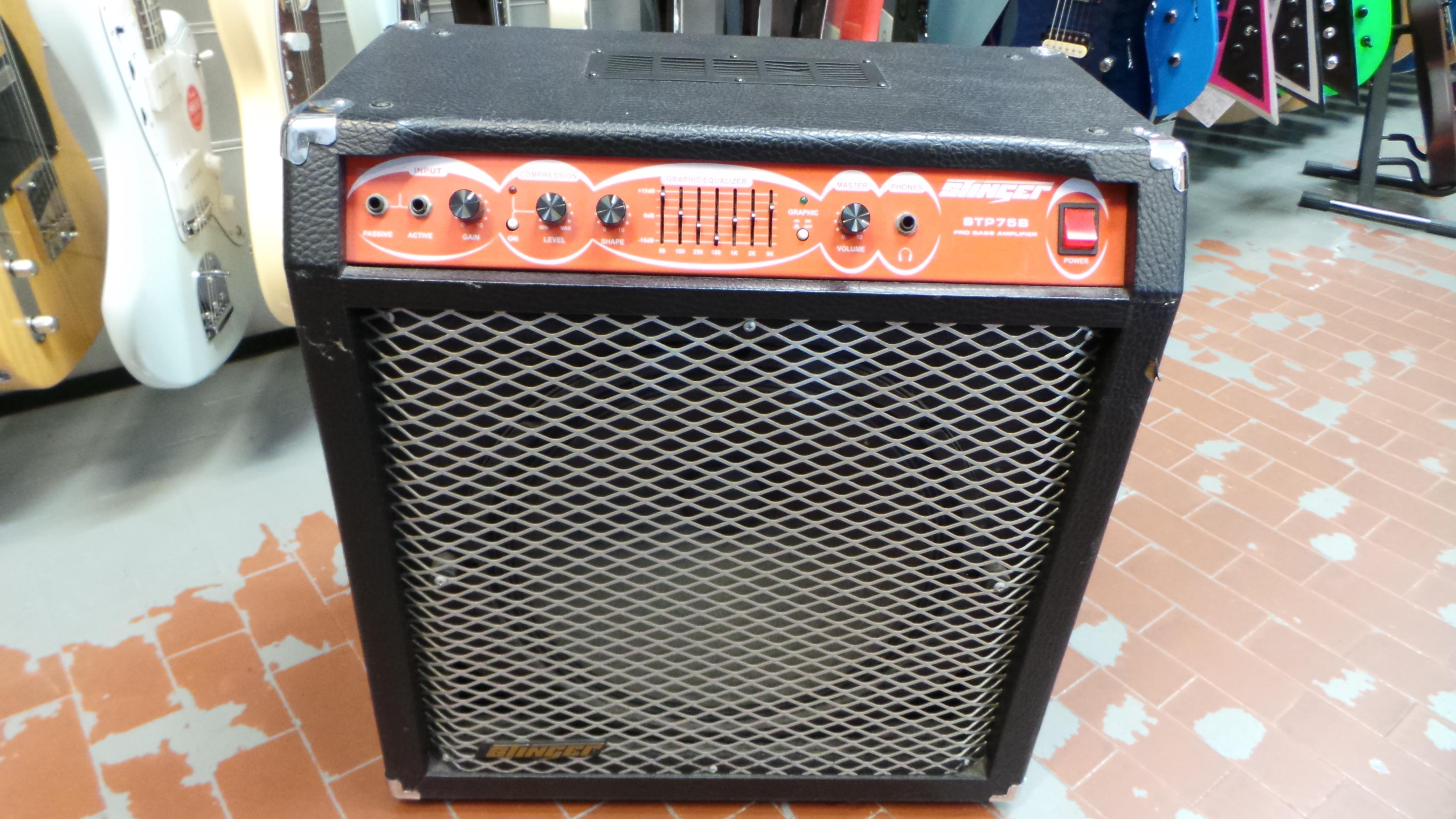 STINGER STP 75 B BASS AMP .