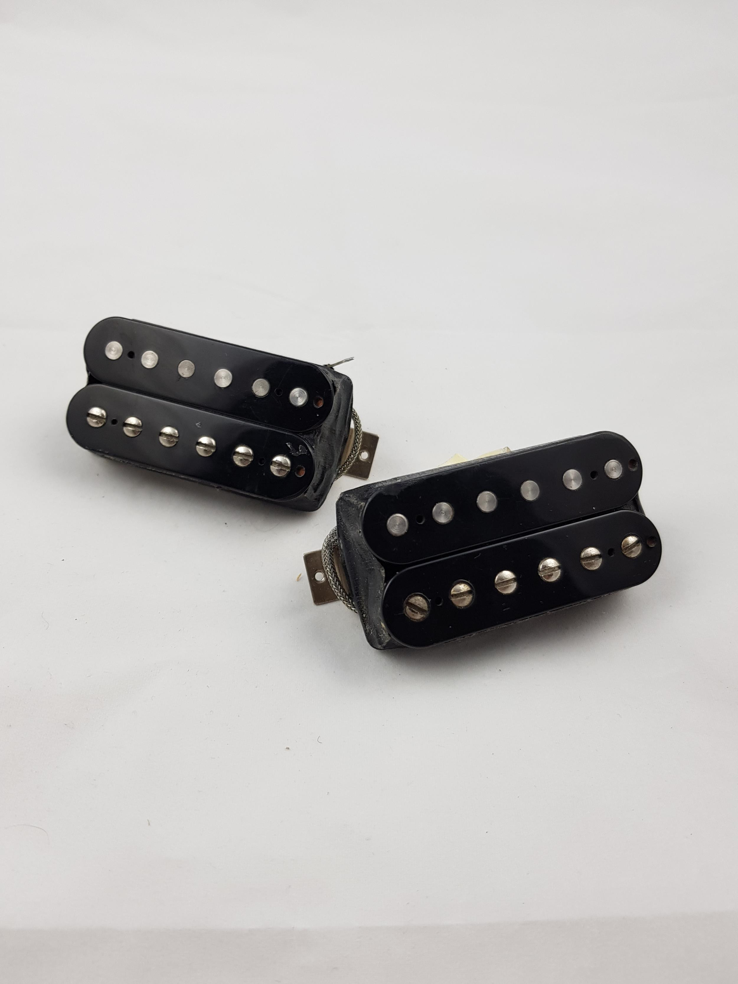 GIBSON GIBSON 496T + 500R COPPIA PICKUP BLACK .